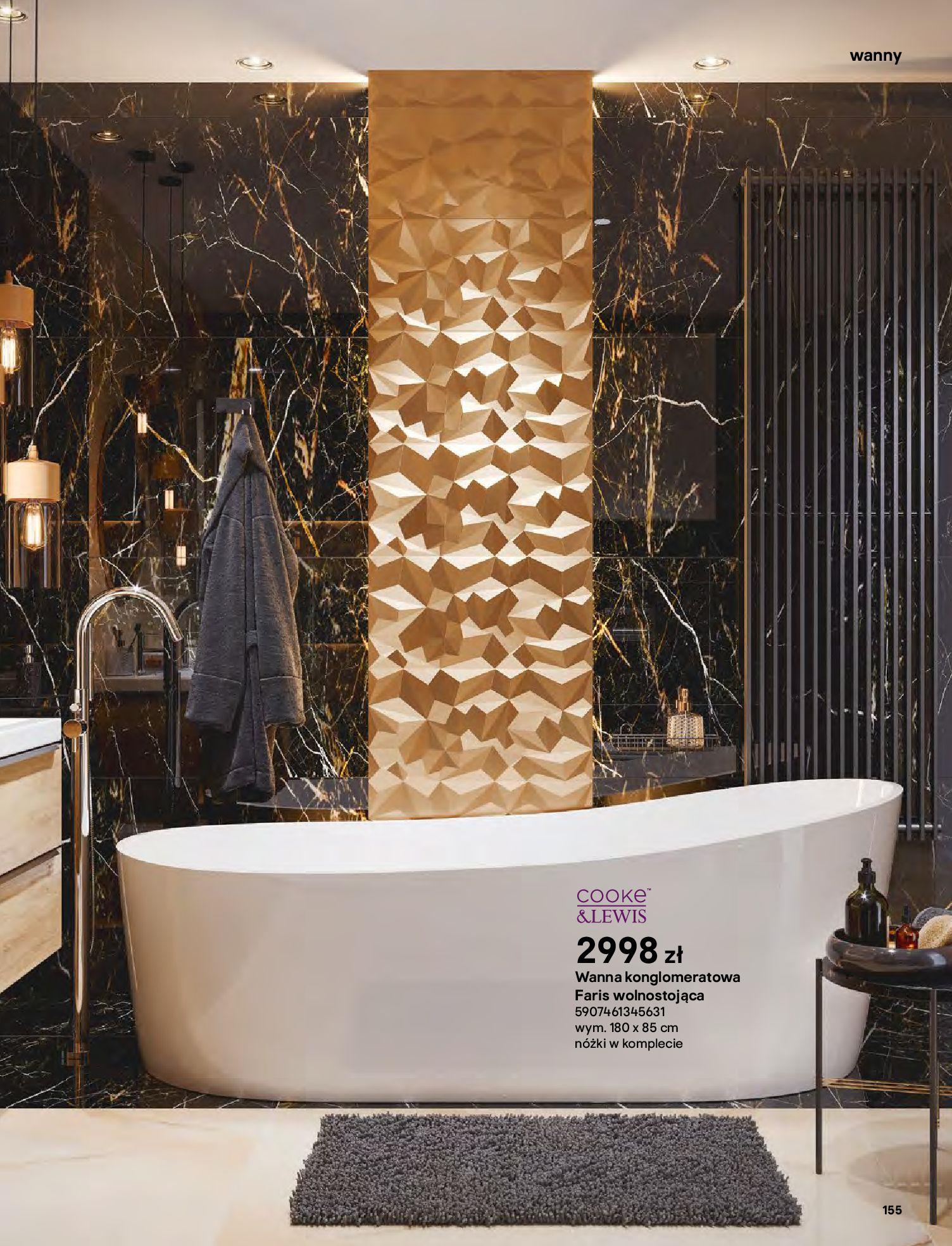 Gazetka Castorama: Gazetka Castorama - katalog łazienki 2021 2021-06-16 page-155
