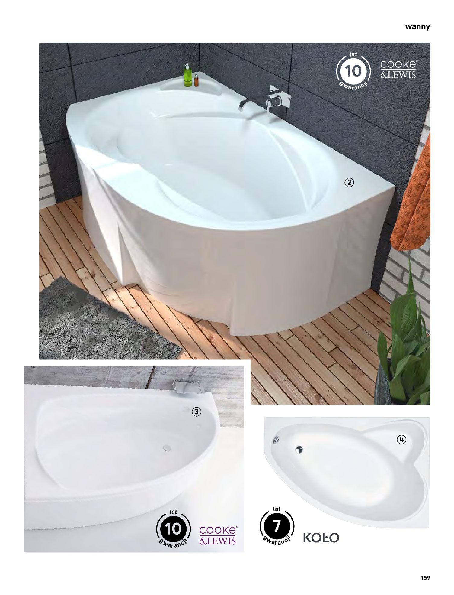 Gazetka Castorama: Gazetka Castorama - katalog łazienki 2021 2021-06-16 page-159