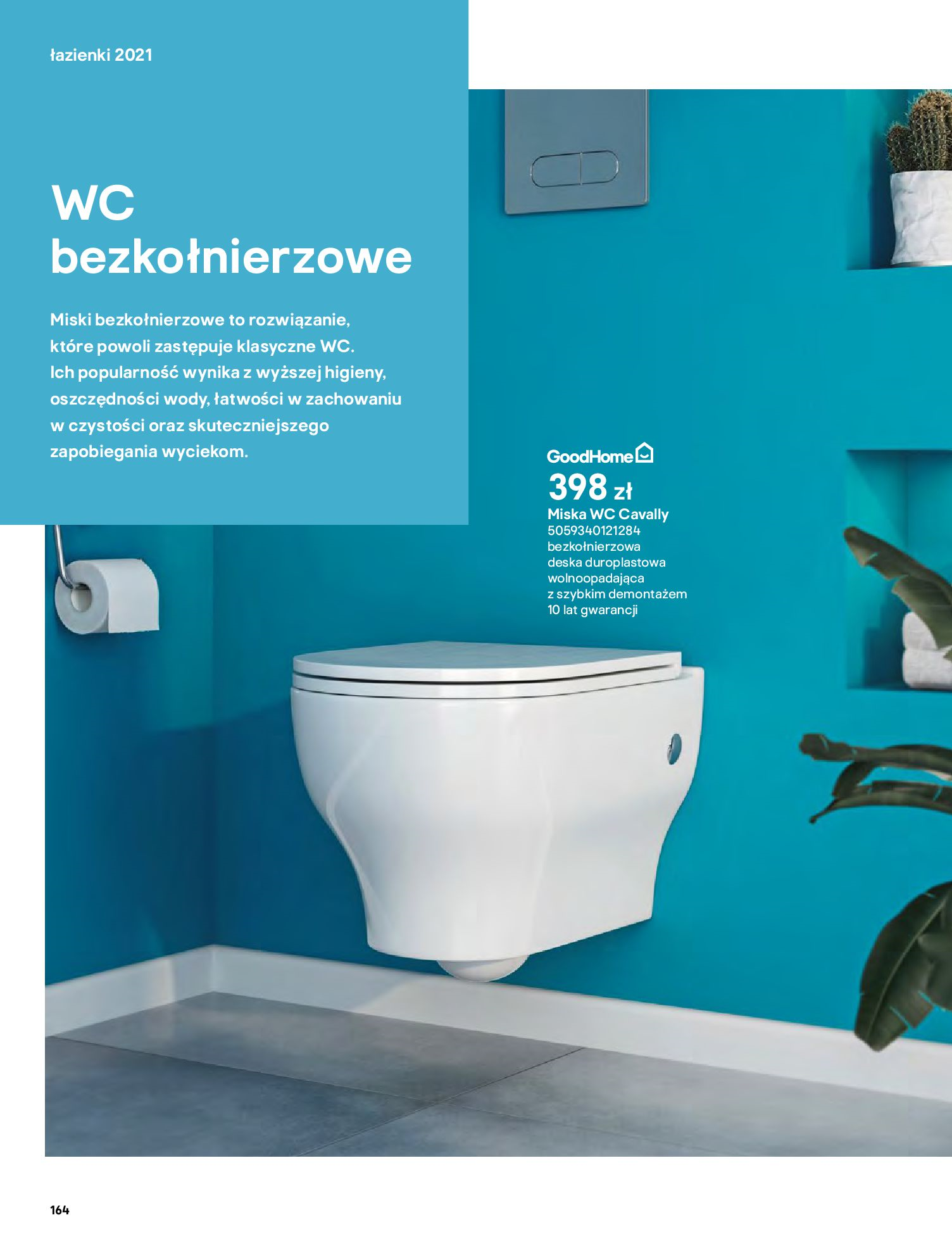 Gazetka Castorama: Gazetka Castorama - katalog łazienki 2021 2021-06-16 page-164