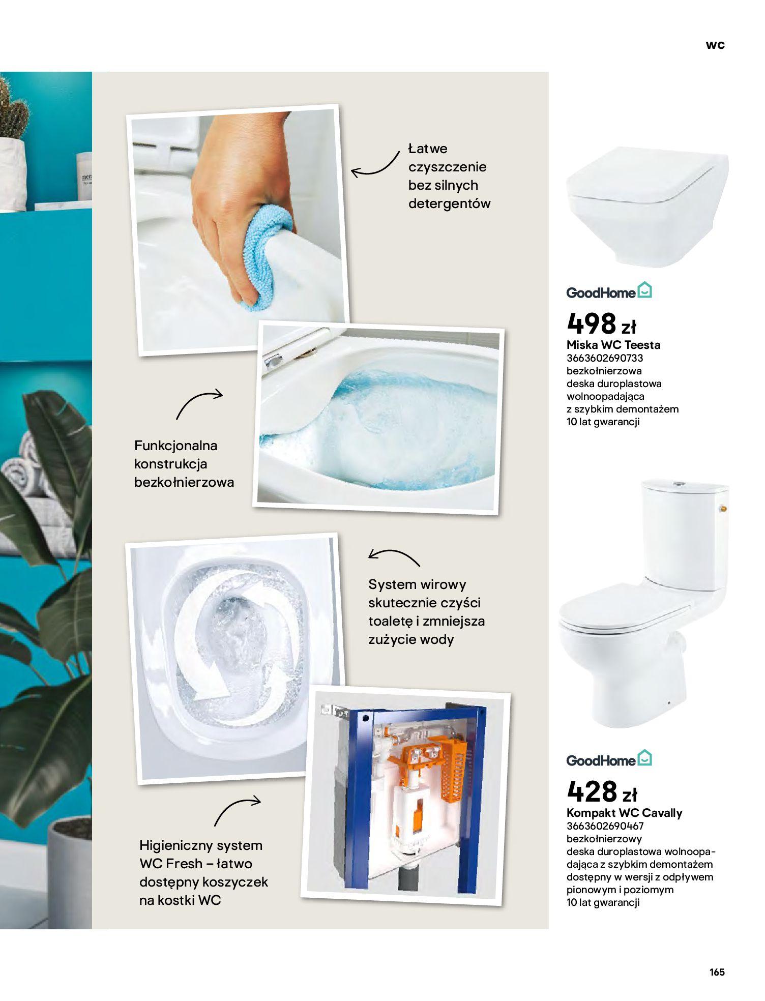 Gazetka Castorama: Gazetka Castorama - katalog łazienki 2021 2021-06-16 page-165