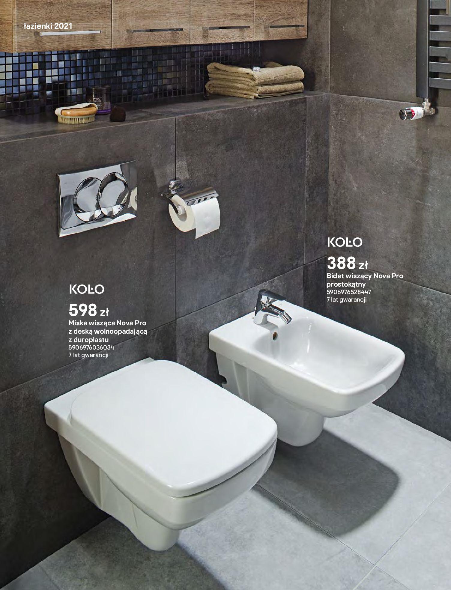 Gazetka Castorama: Gazetka Castorama - katalog łazienki 2021 2021-06-16 page-166