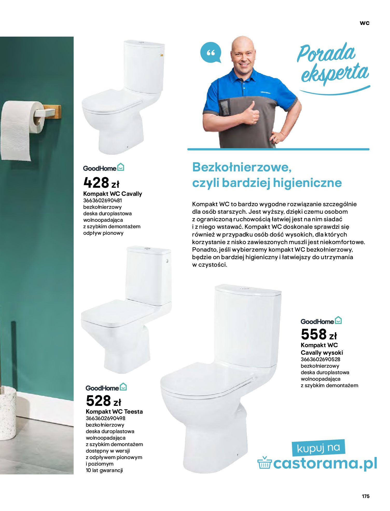Gazetka Castorama: Gazetka Castorama - katalog łazienki 2021 2021-06-16 page-175
