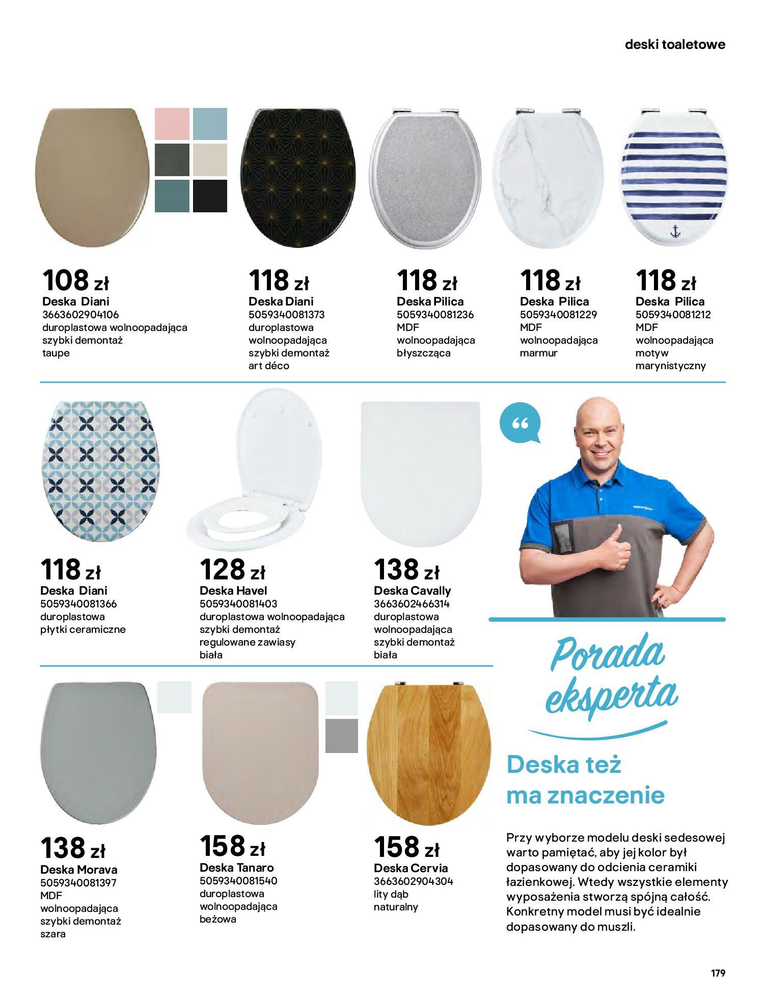Gazetka Castorama: Gazetka Castorama - katalog łazienki 2021 2021-06-16 page-179