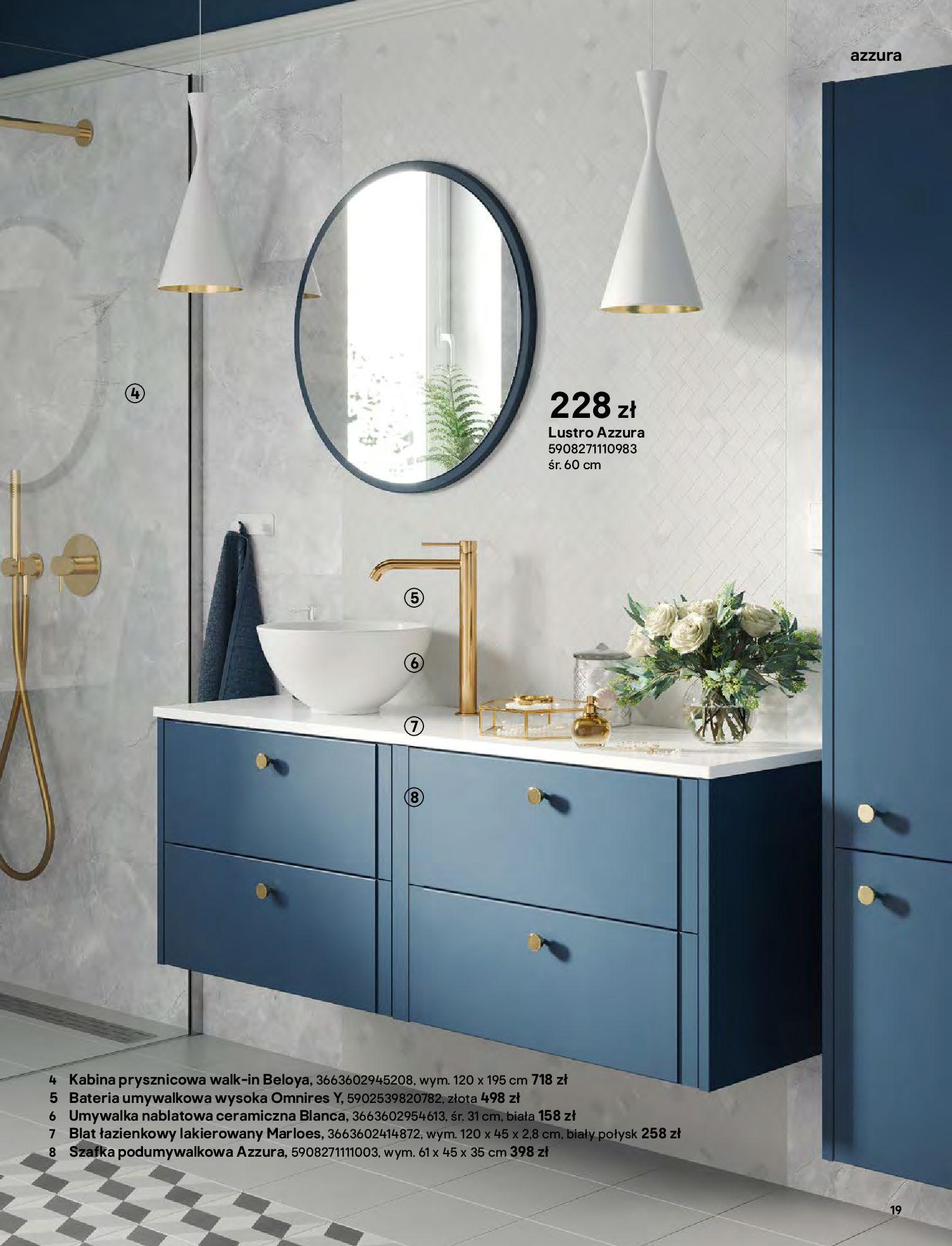 Gazetka Castorama: Gazetka Castorama - katalog łazienki 2021 2021-06-16 page-19