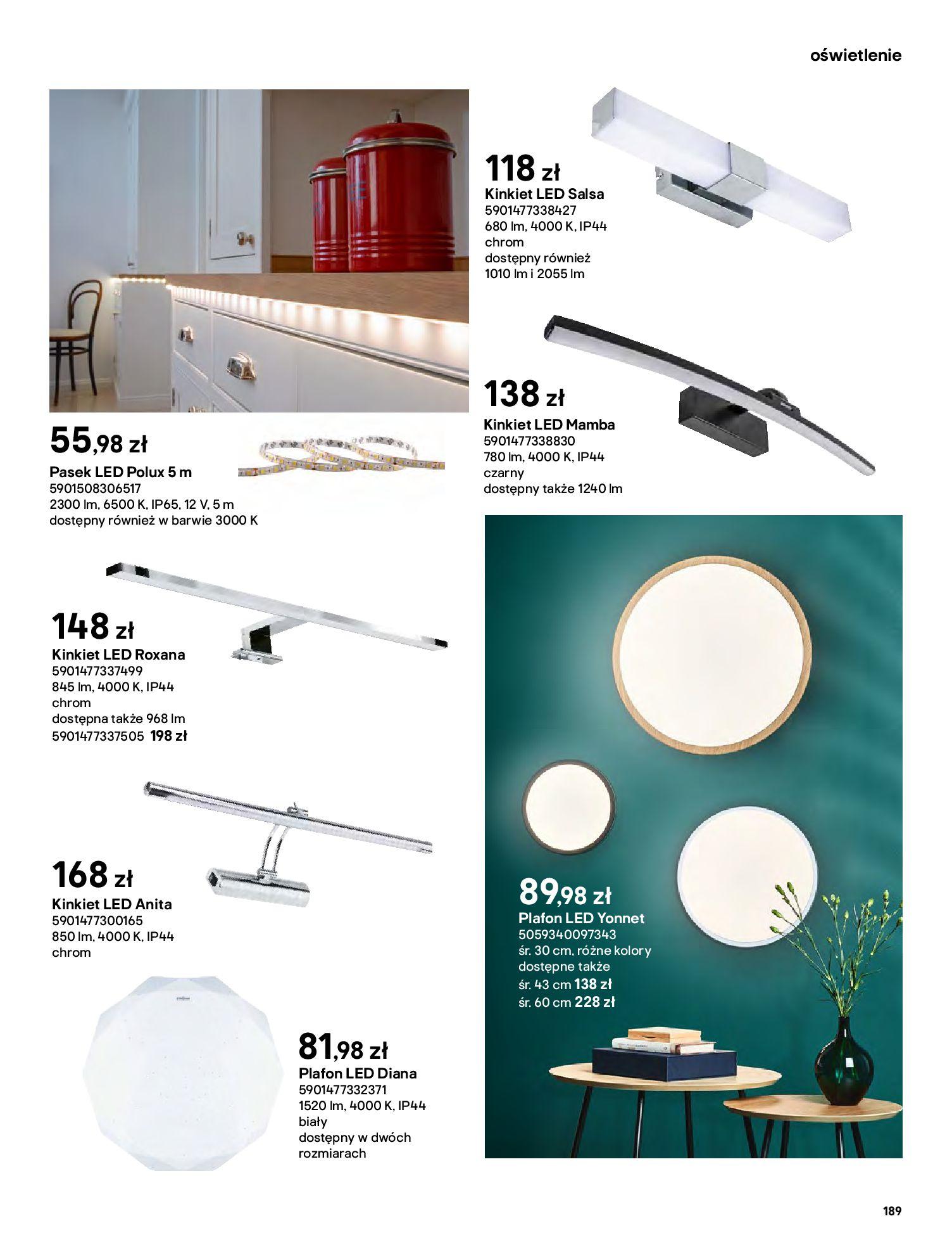 Gazetka Castorama: Gazetka Castorama - katalog łazienki 2021 2021-06-16 page-189