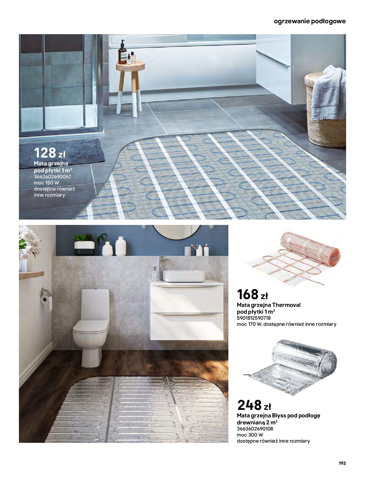 Gazetka Castorama: Gazetka Castorama - katalog łazienki 2021 2021-06-16 page-193