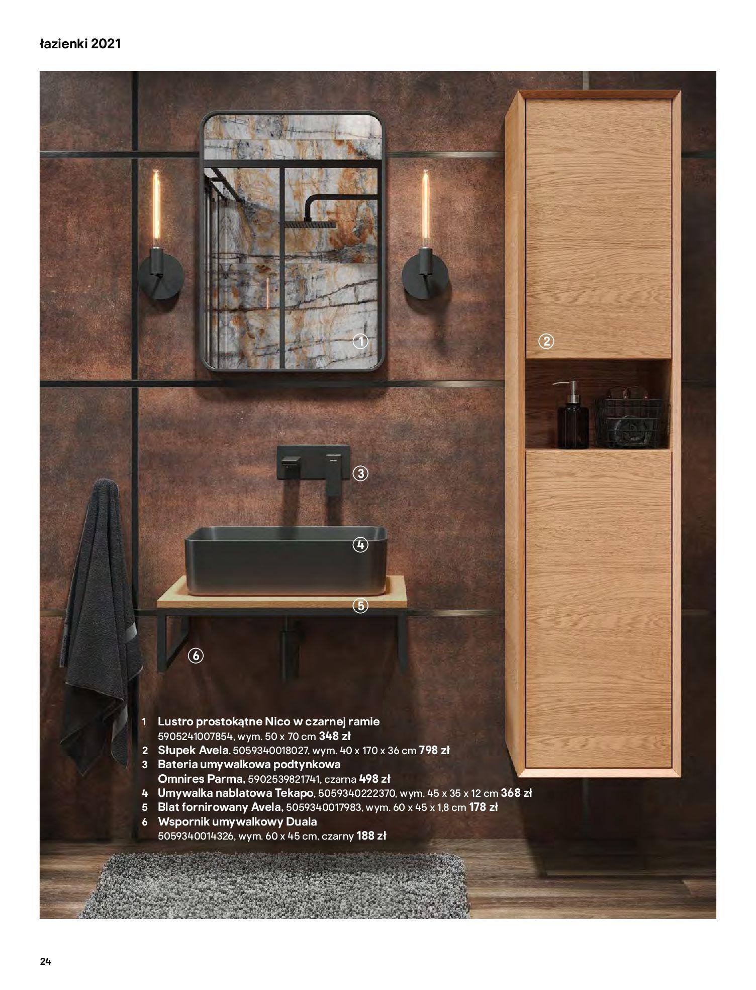 Gazetka Castorama: Gazetka Castorama - katalog łazienki 2021 2021-06-16 page-24