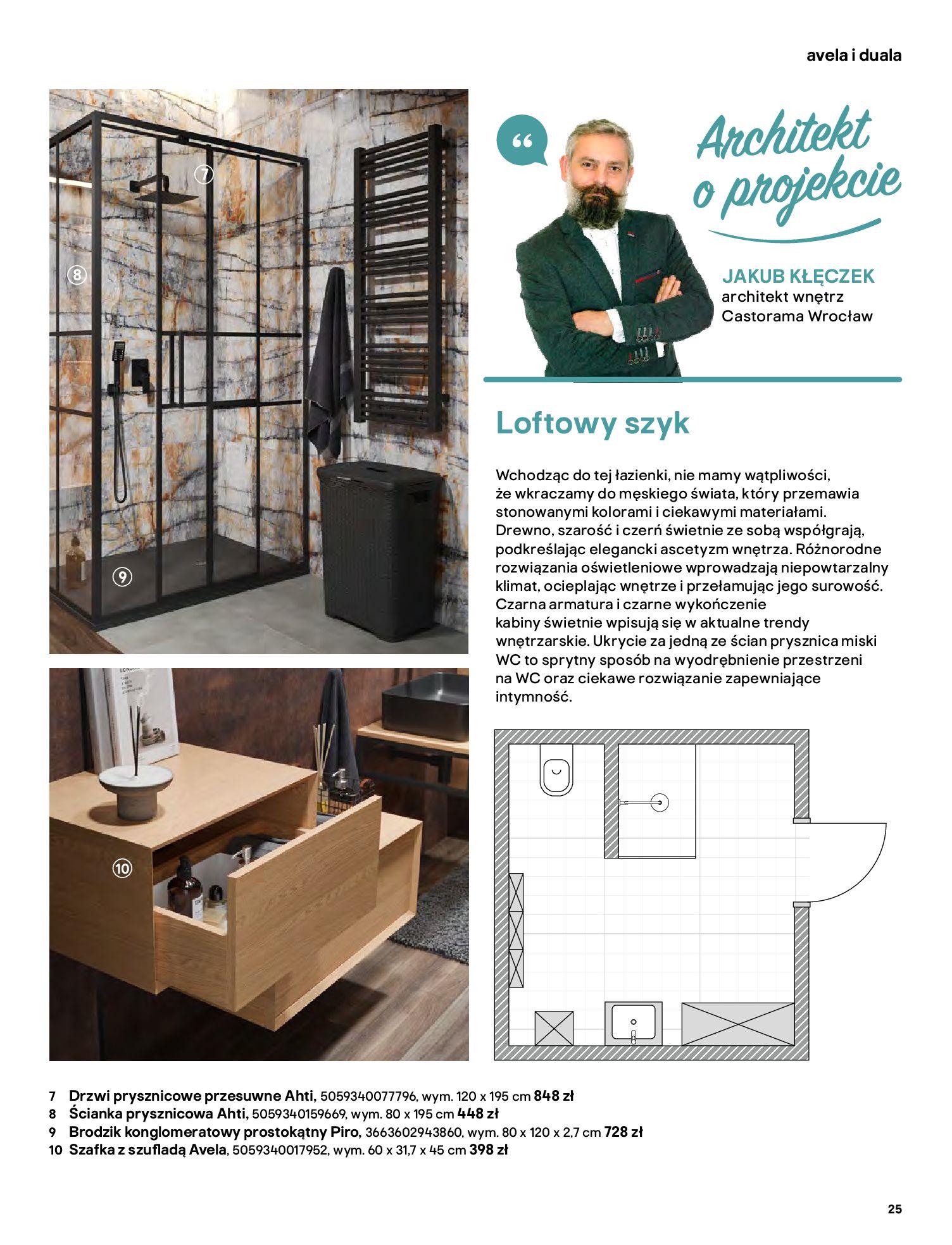 Gazetka Castorama: Gazetka Castorama - katalog łazienki 2021 2021-06-16 page-25
