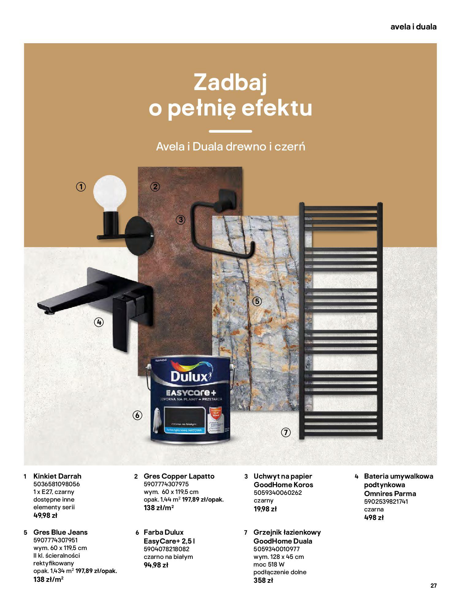 Gazetka Castorama: Gazetka Castorama - katalog łazienki 2021 2021-06-16 page-27