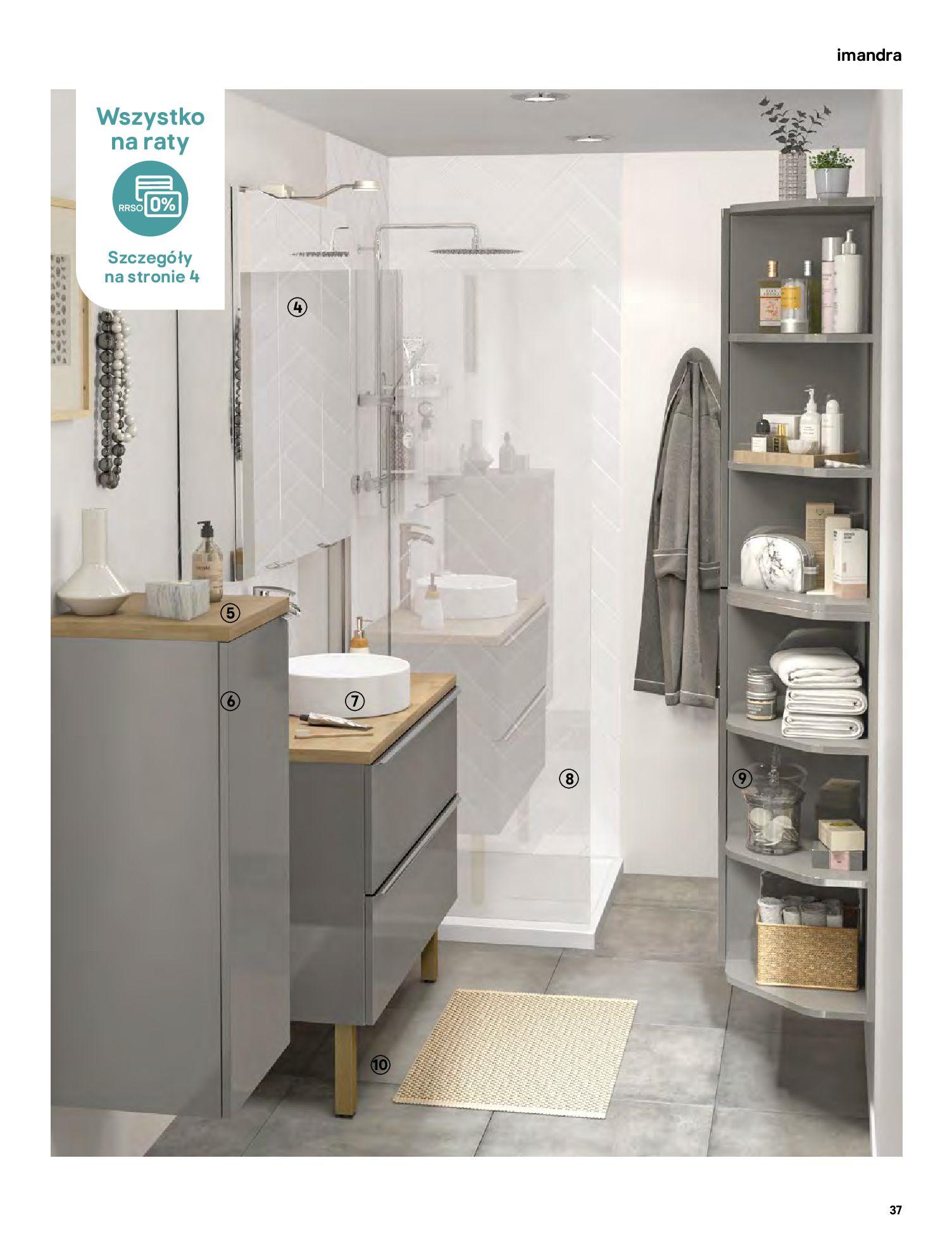 Gazetka Castorama: Gazetka Castorama - katalog łazienki 2021 2021-06-16 page-37