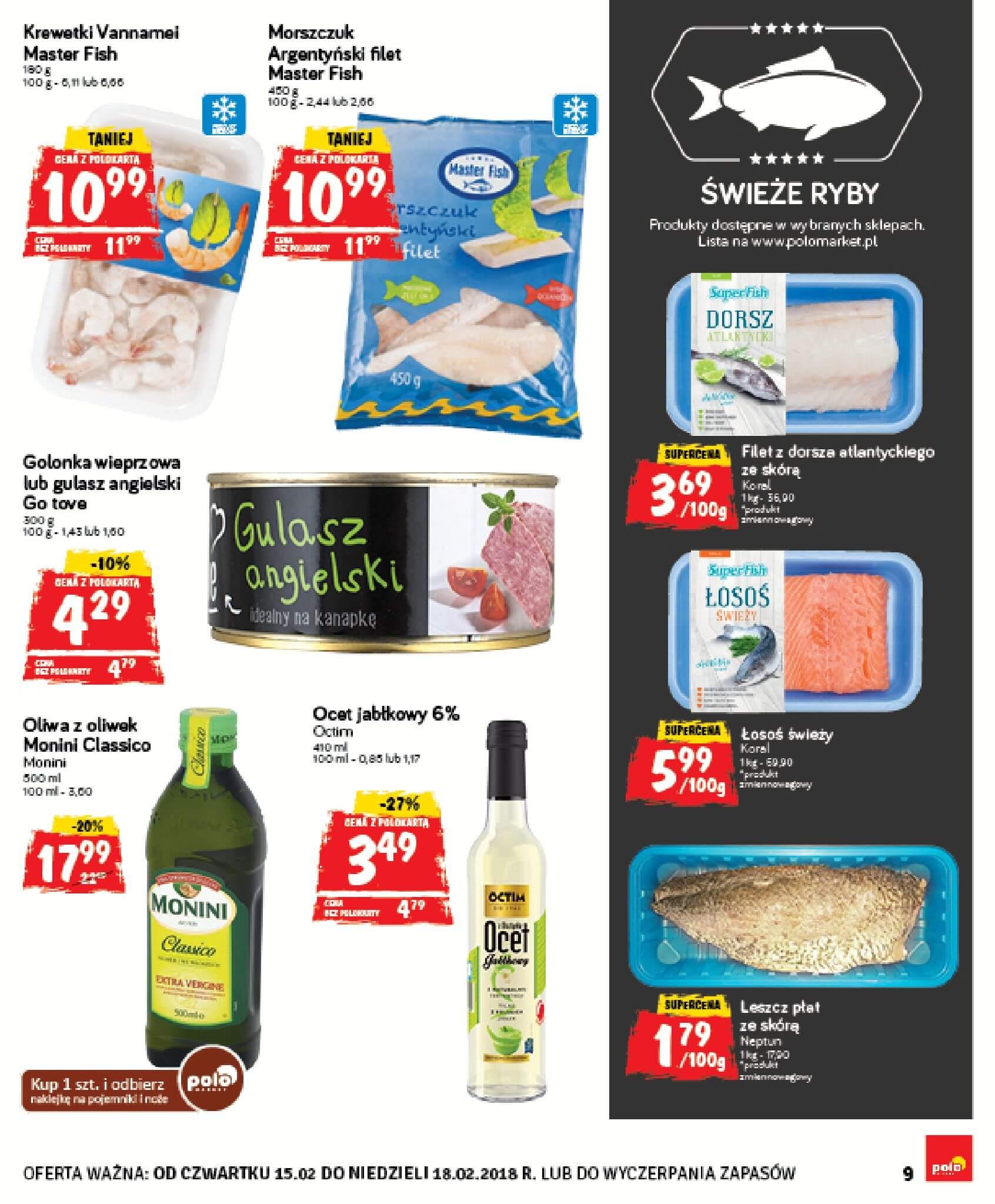 Gazetka Polomarket - Oferta na art. spożywcze, kosmetyki, chemię-14.02.2018-18.02.2018-page-9