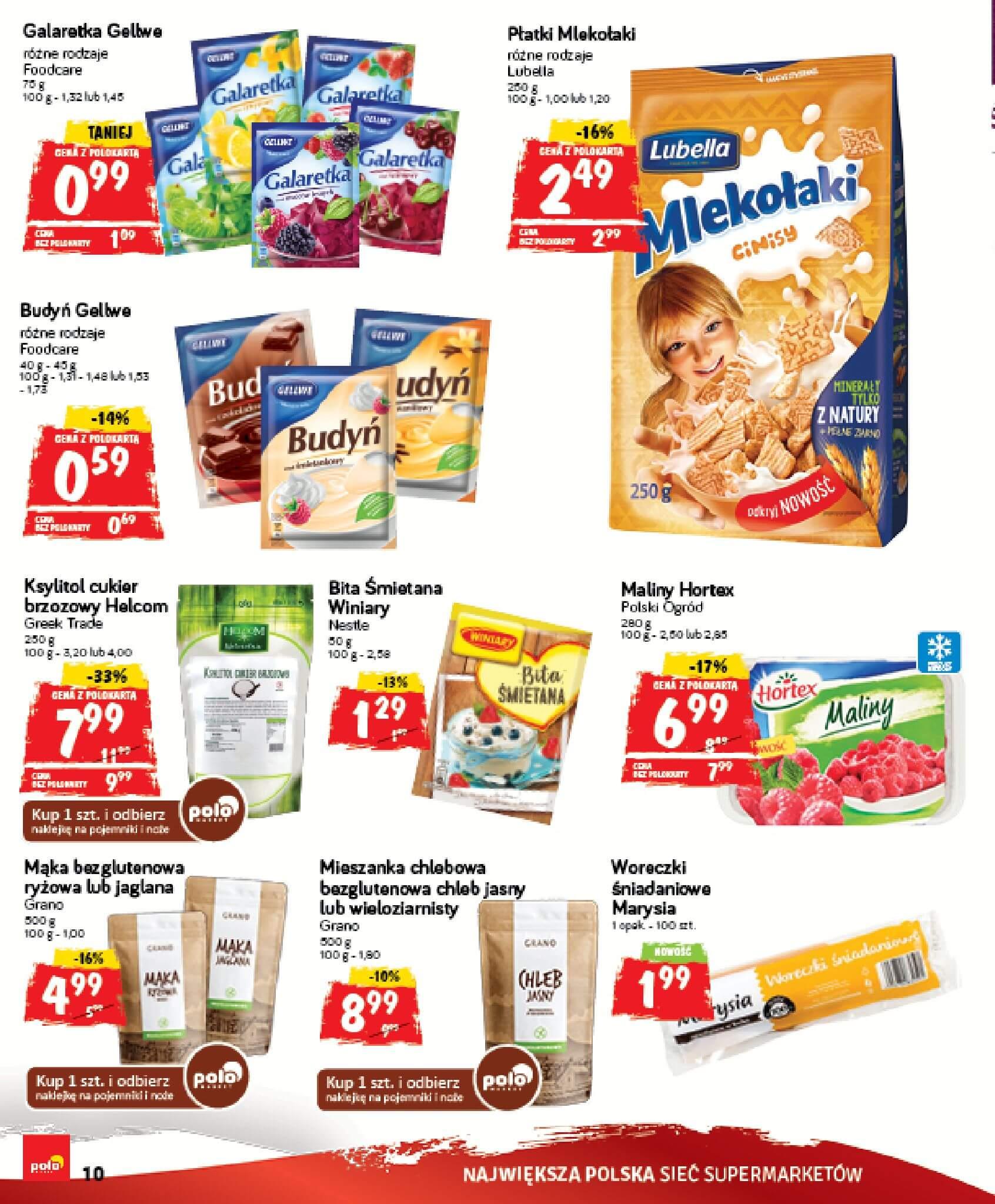 Gazetka Polomarket - Oferta na art. spożywcze, kosmetyki, chemię-14.02.2018-18.02.2018-page-10