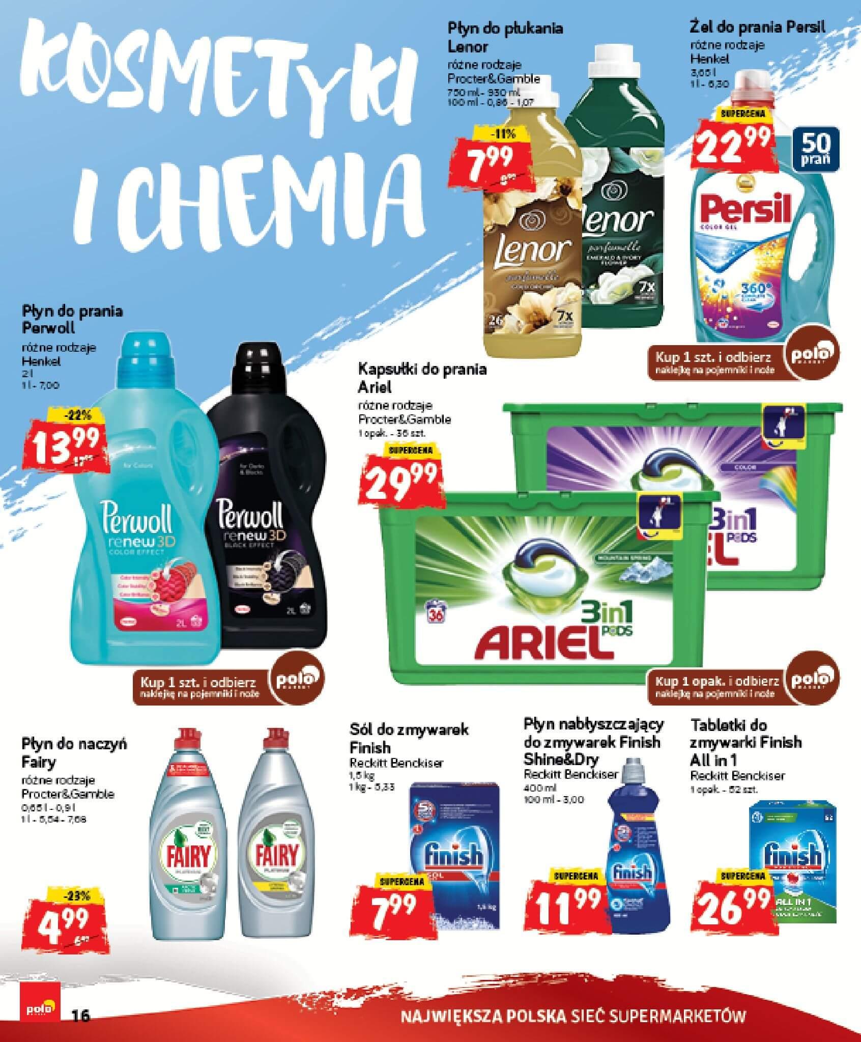 Gazetka Polomarket - Oferta na art. spożywcze, kosmetyki, chemię-14.02.2018-18.02.2018-page-16