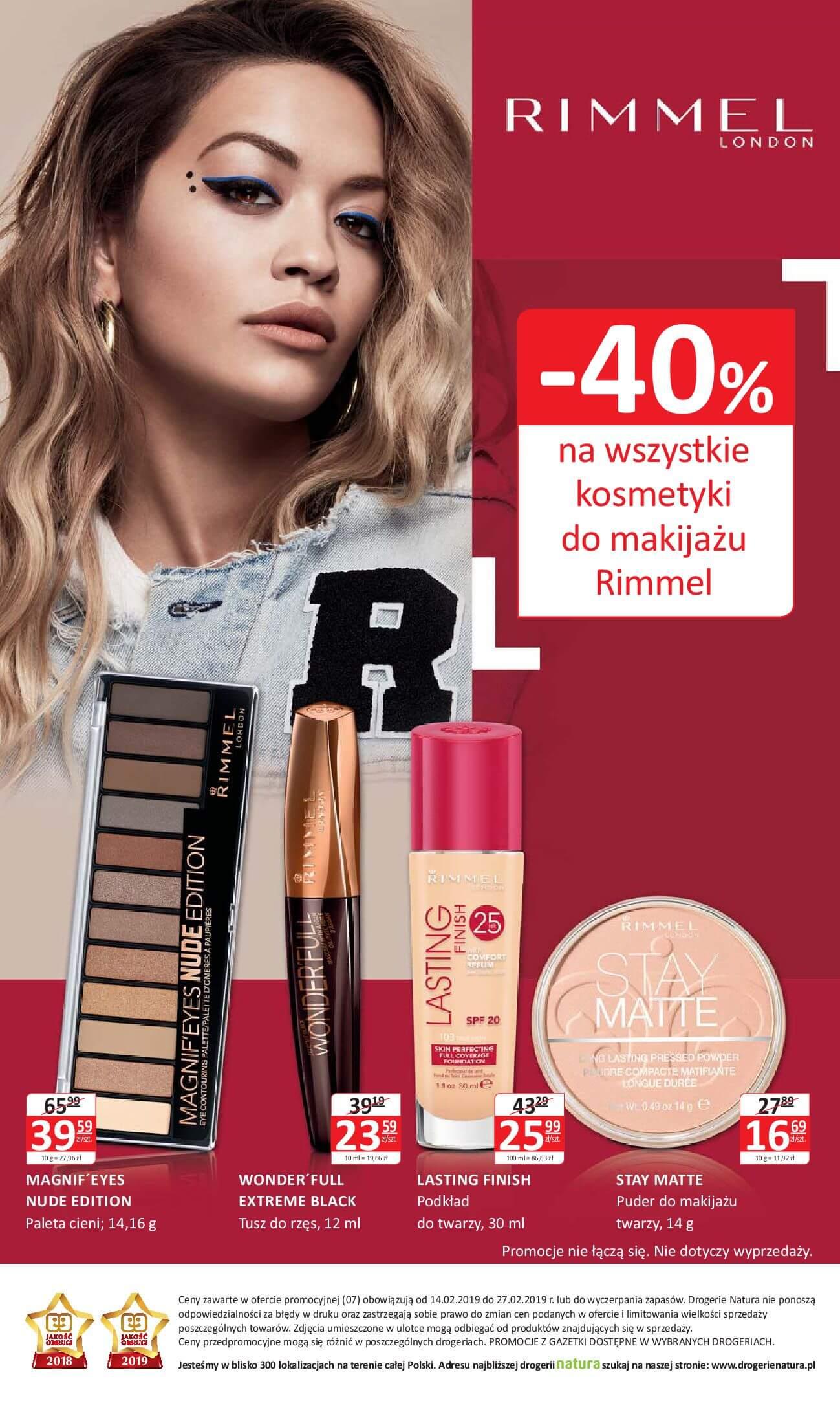 Gazetka Drogerie Natura - Oferta na artykuły kosmetyczne-13.02.2019-27.02.2019-page-