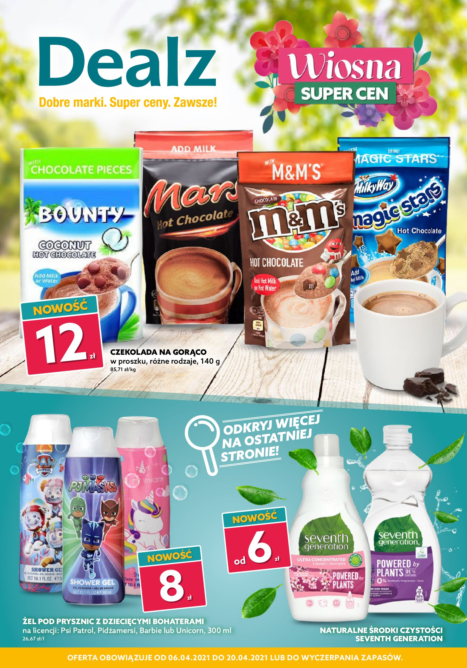 Dealz :  Gazetka Wiosna Super Cen 04.04.2021