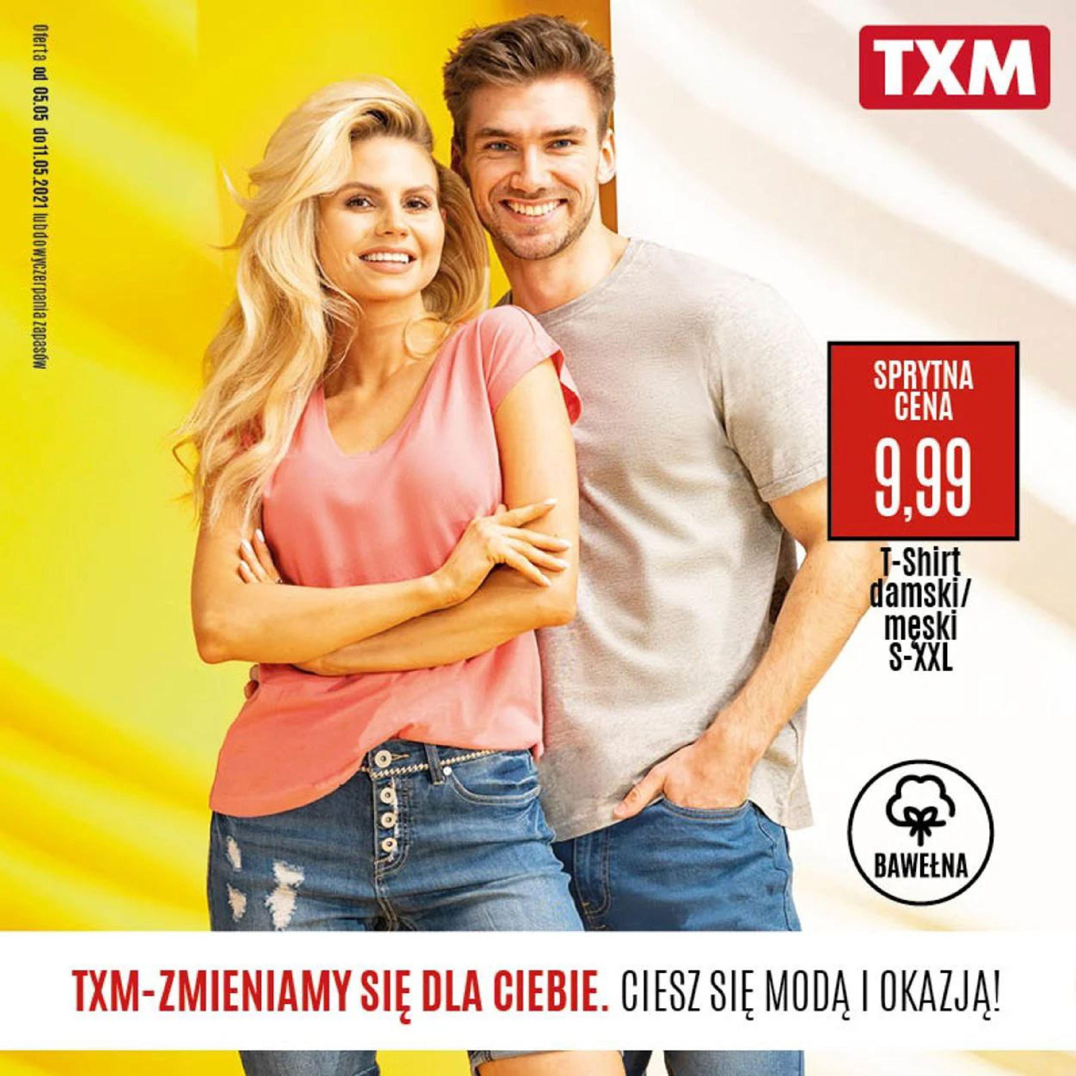 TXM textilmarket:  Gazetka promocyjna TXM od 06.05 04.05.2021