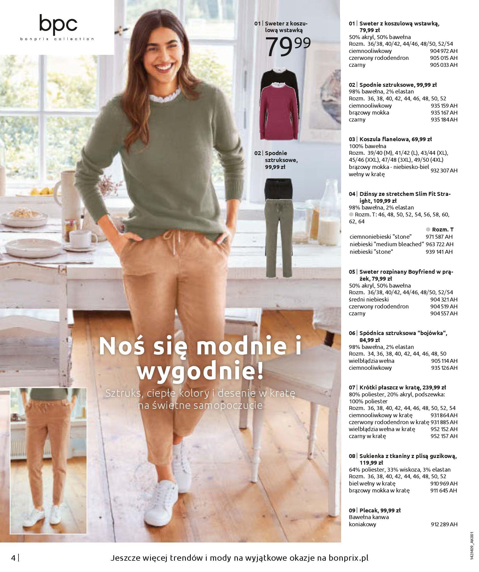 Gazetka Bonprix: Naturalnie i stylowo 2020-09-24 page-6