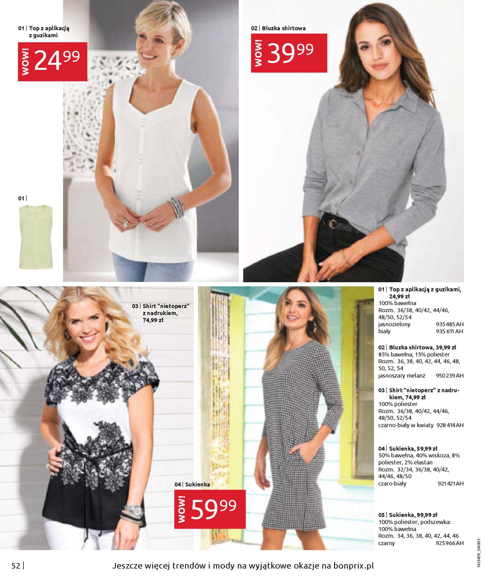 Gazetka Bonprix: Naturalnie i stylowo 2020-09-24 page-54