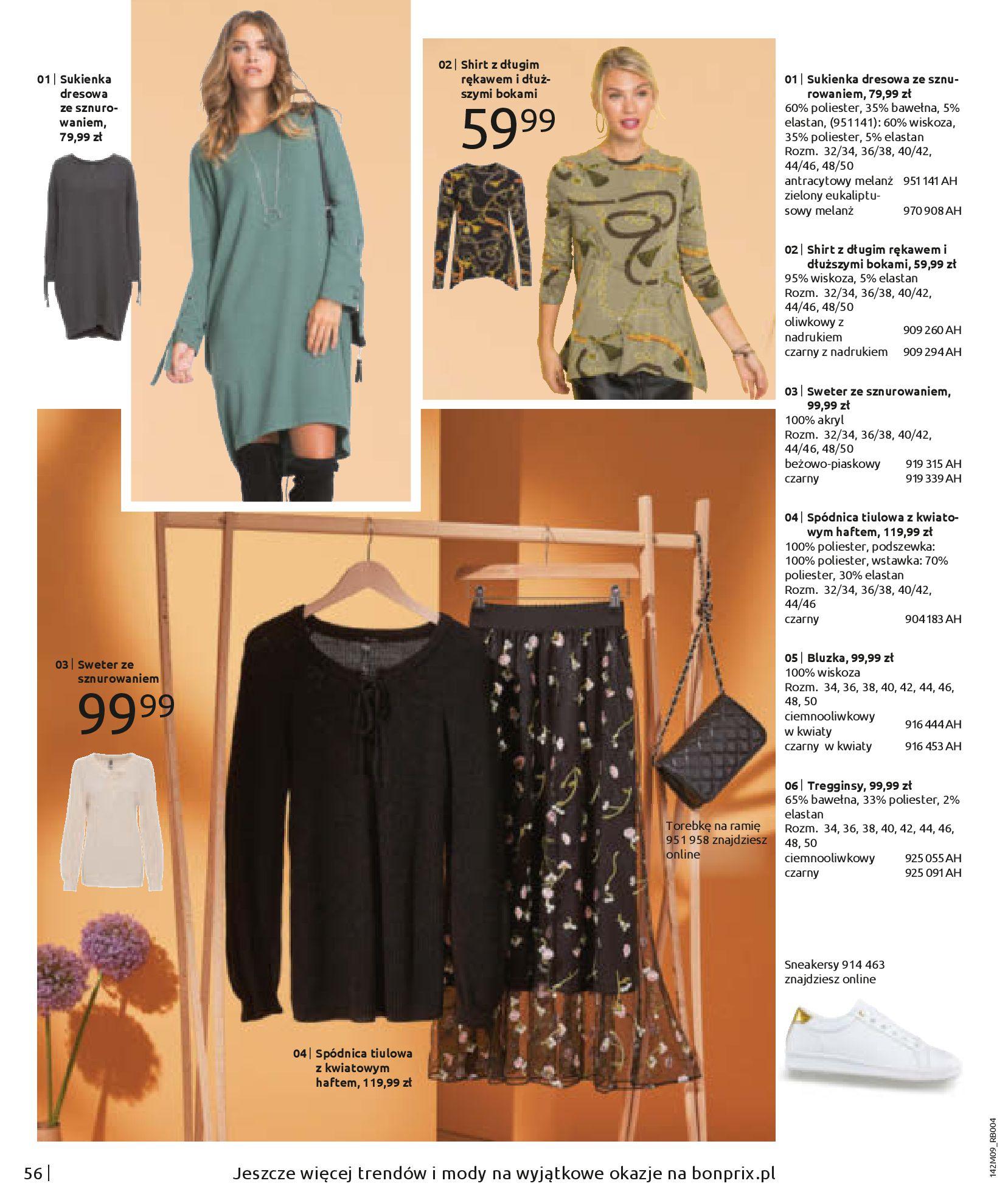 Gazetka Bonprix: Naturalnie i stylowo 2020-09-24 page-58