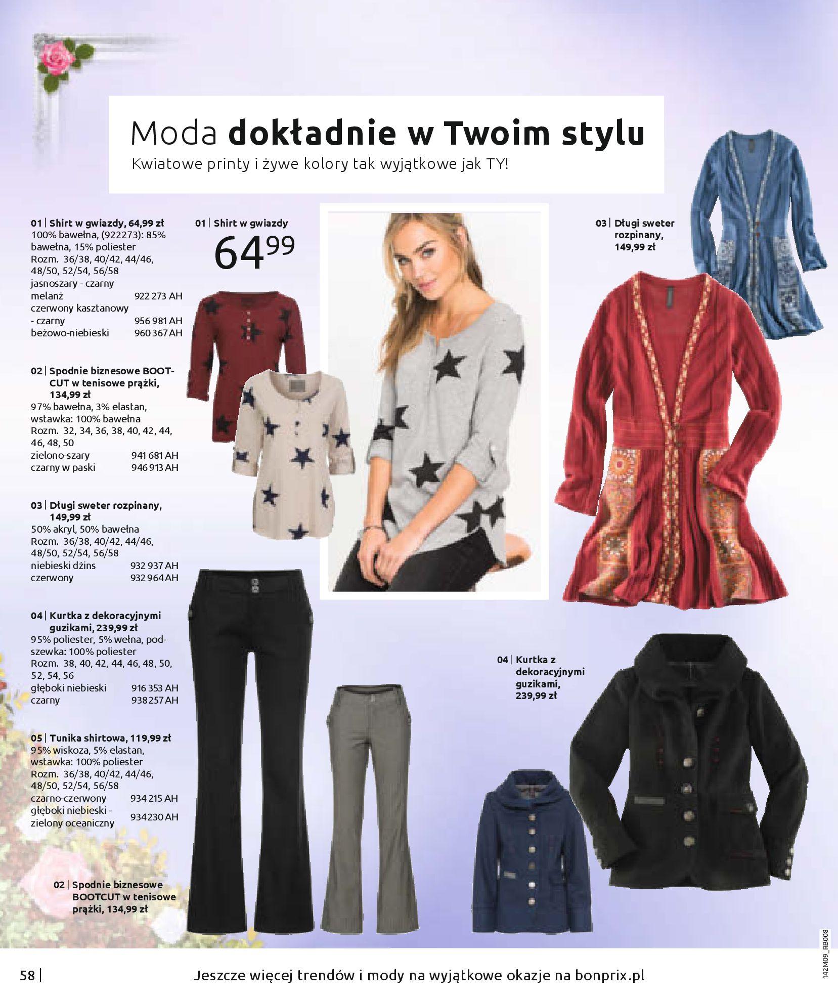 Gazetka Bonprix: Naturalnie i stylowo 2020-09-24 page-60