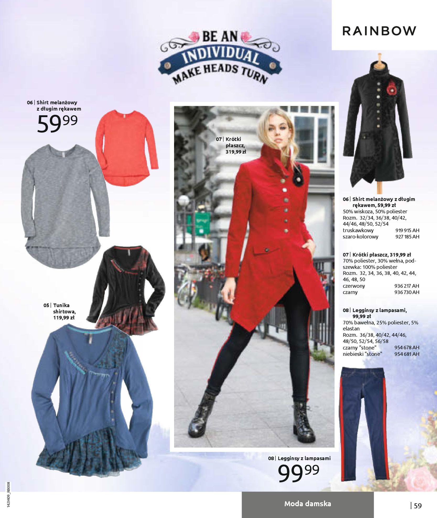 Gazetka Bonprix: Naturalnie i stylowo 2020-09-24 page-61
