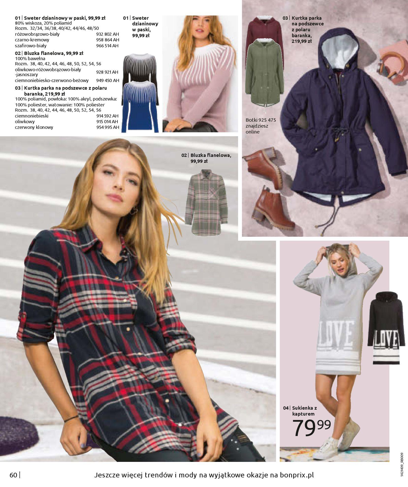 Gazetka Bonprix: Naturalnie i stylowo 2020-09-24 page-62