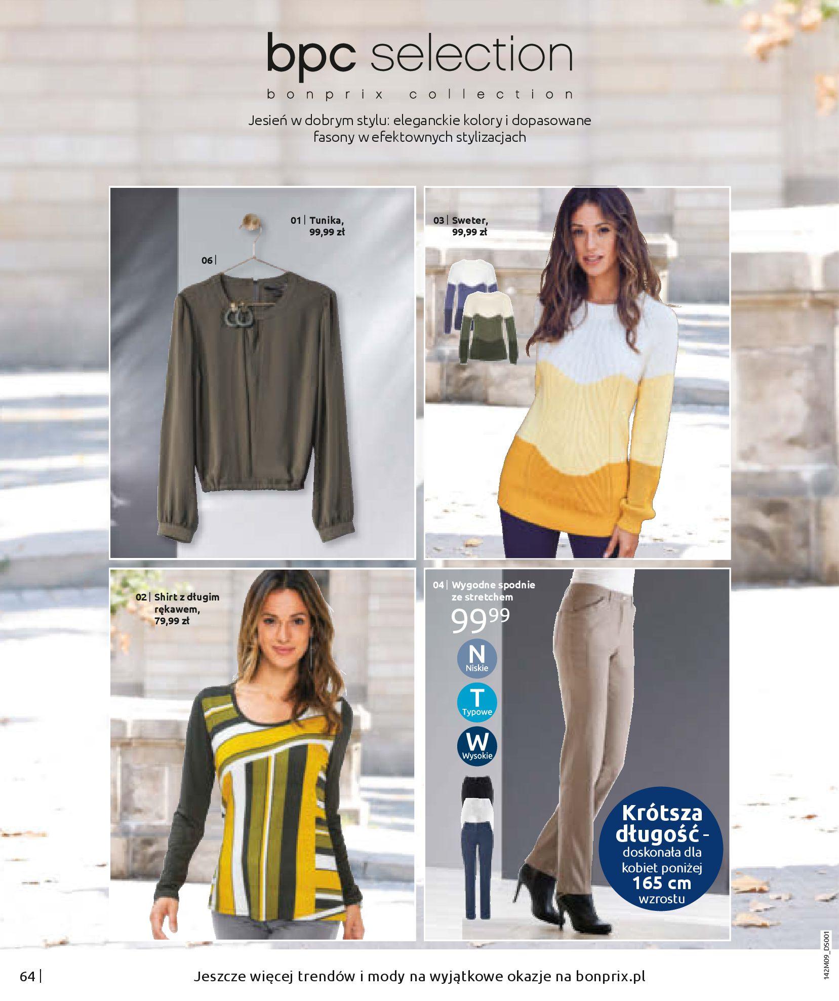 Gazetka Bonprix: Naturalnie i stylowo 2020-09-24 page-66