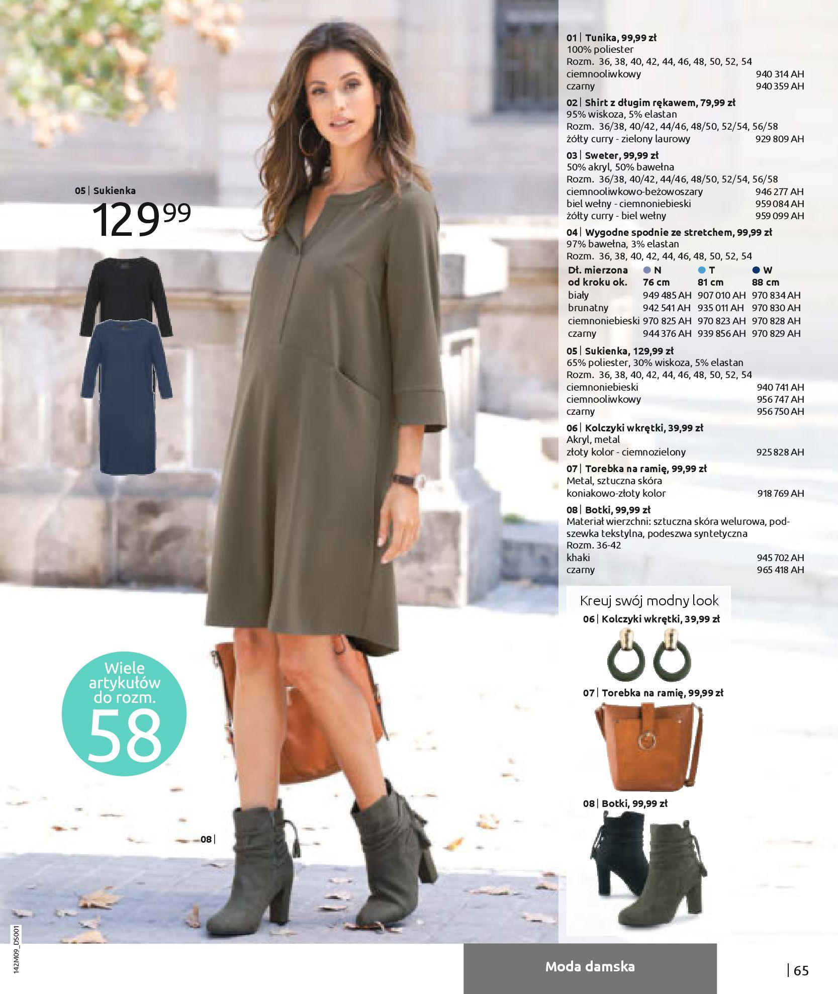 Gazetka Bonprix: Naturalnie i stylowo 2020-09-24 page-67