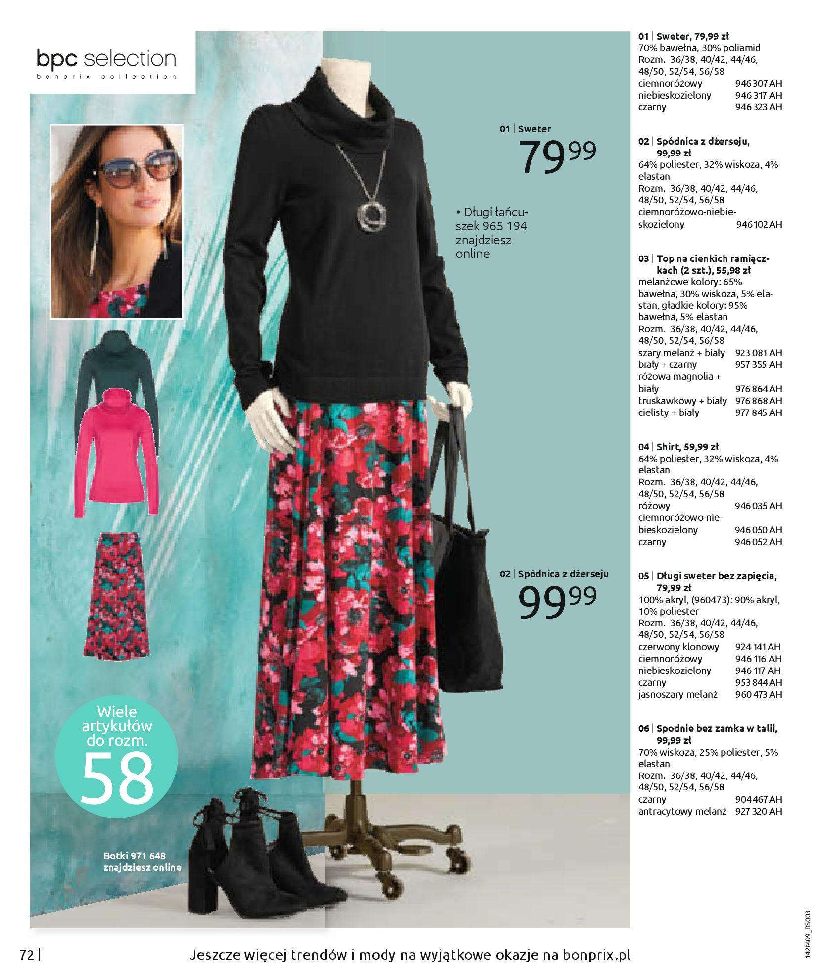 Gazetka Bonprix: Naturalnie i stylowo 2020-09-24 page-74