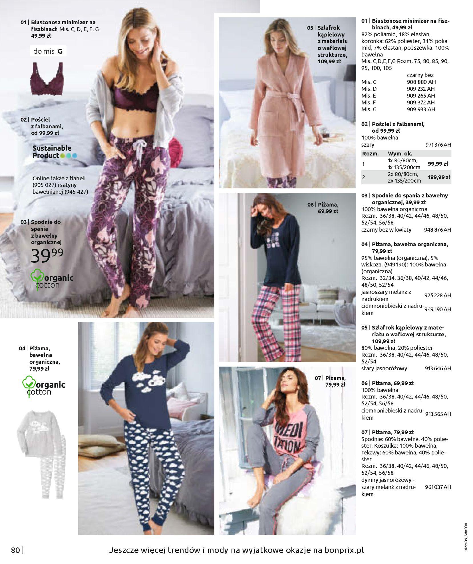 Gazetka Bonprix: Naturalnie i stylowo 2020-09-24 page-82