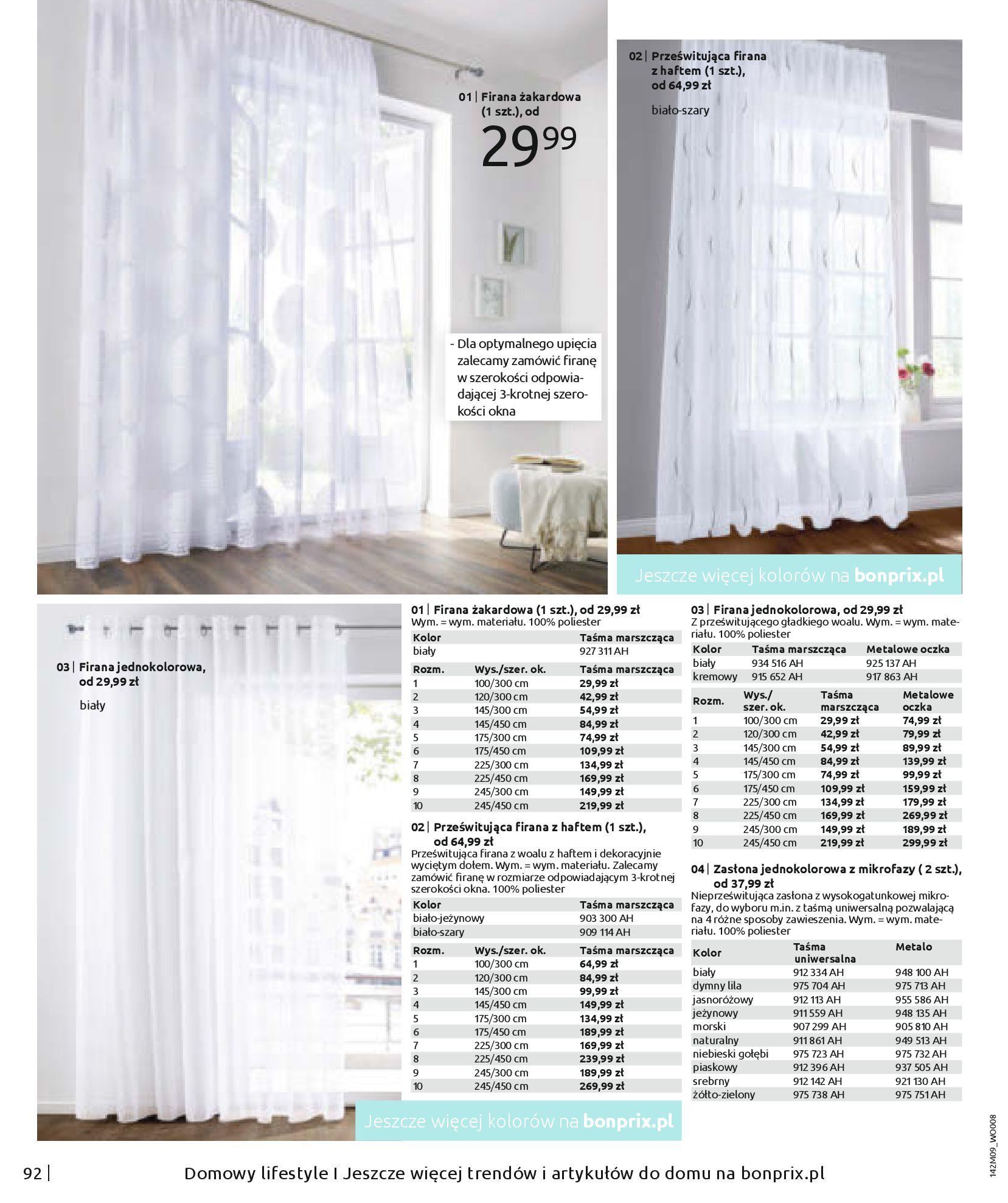 Gazetka Bonprix: Naturalnie i stylowo 2020-09-24 page-94