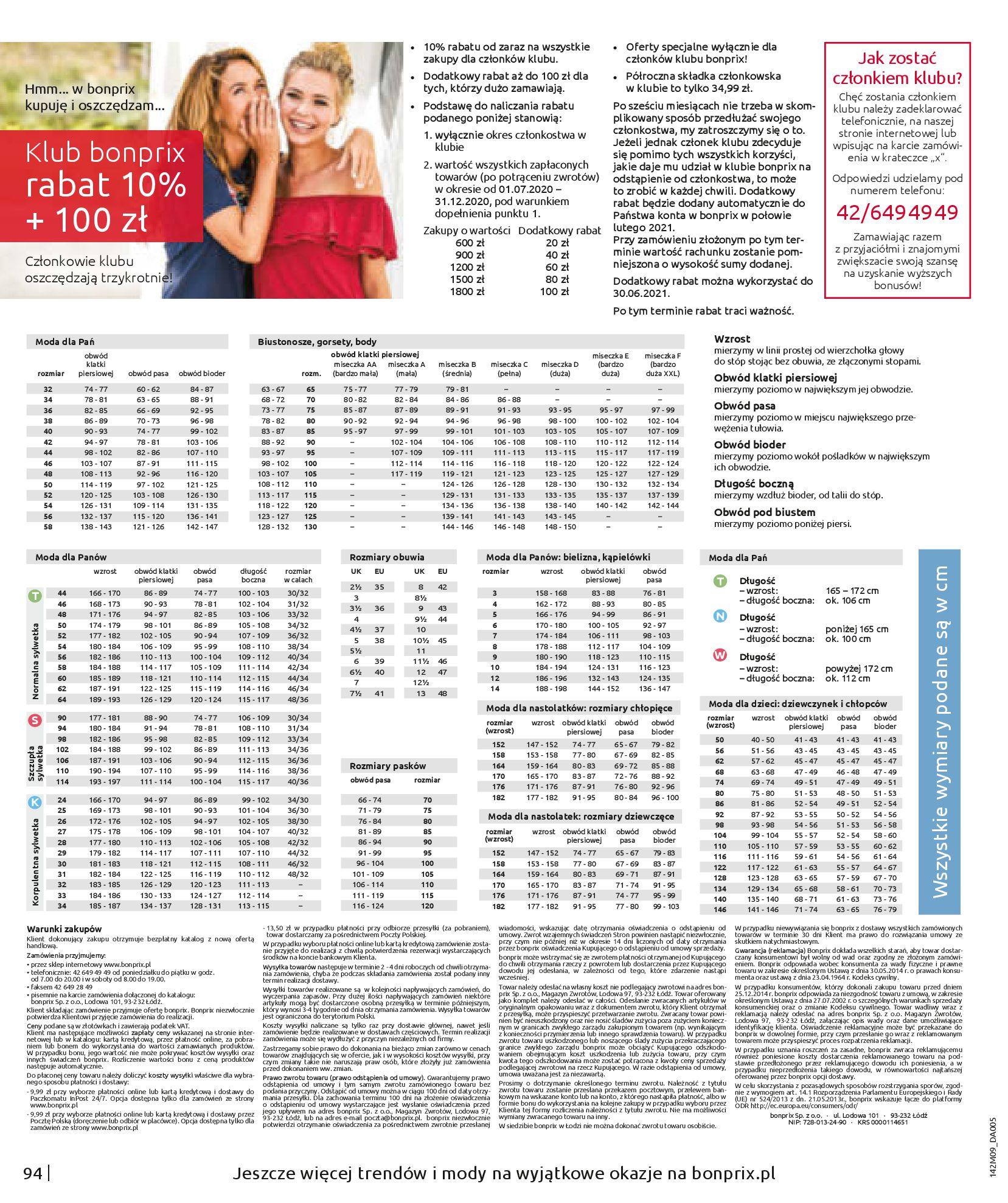 Gazetka Bonprix: Naturalnie i stylowo 2020-09-24 page-96