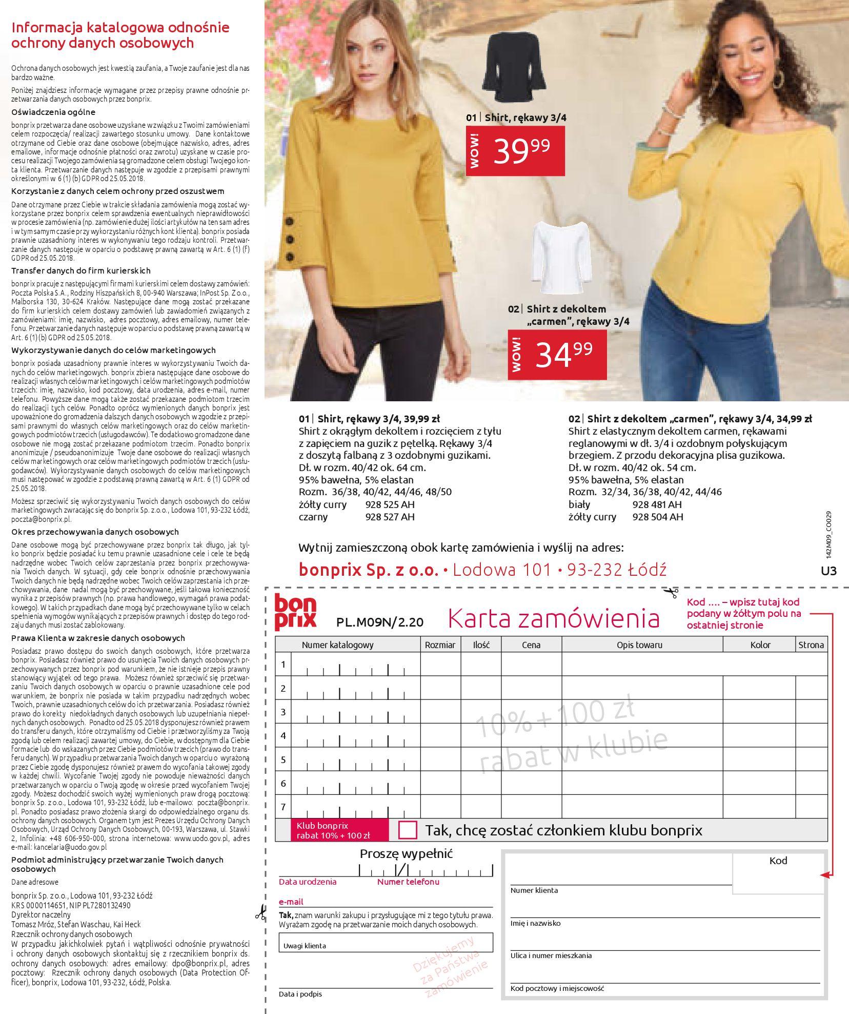 Gazetka Bonprix: Naturalnie i stylowo 2020-09-24 page-99