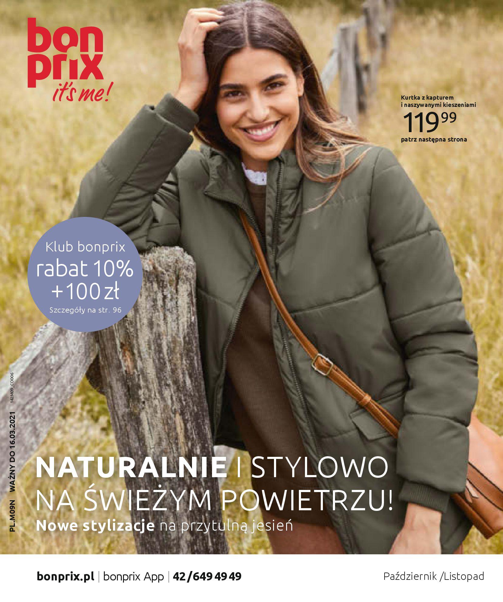 Gazetka Bonprix: Naturalnie i stylowo 2020-09-24 page-1