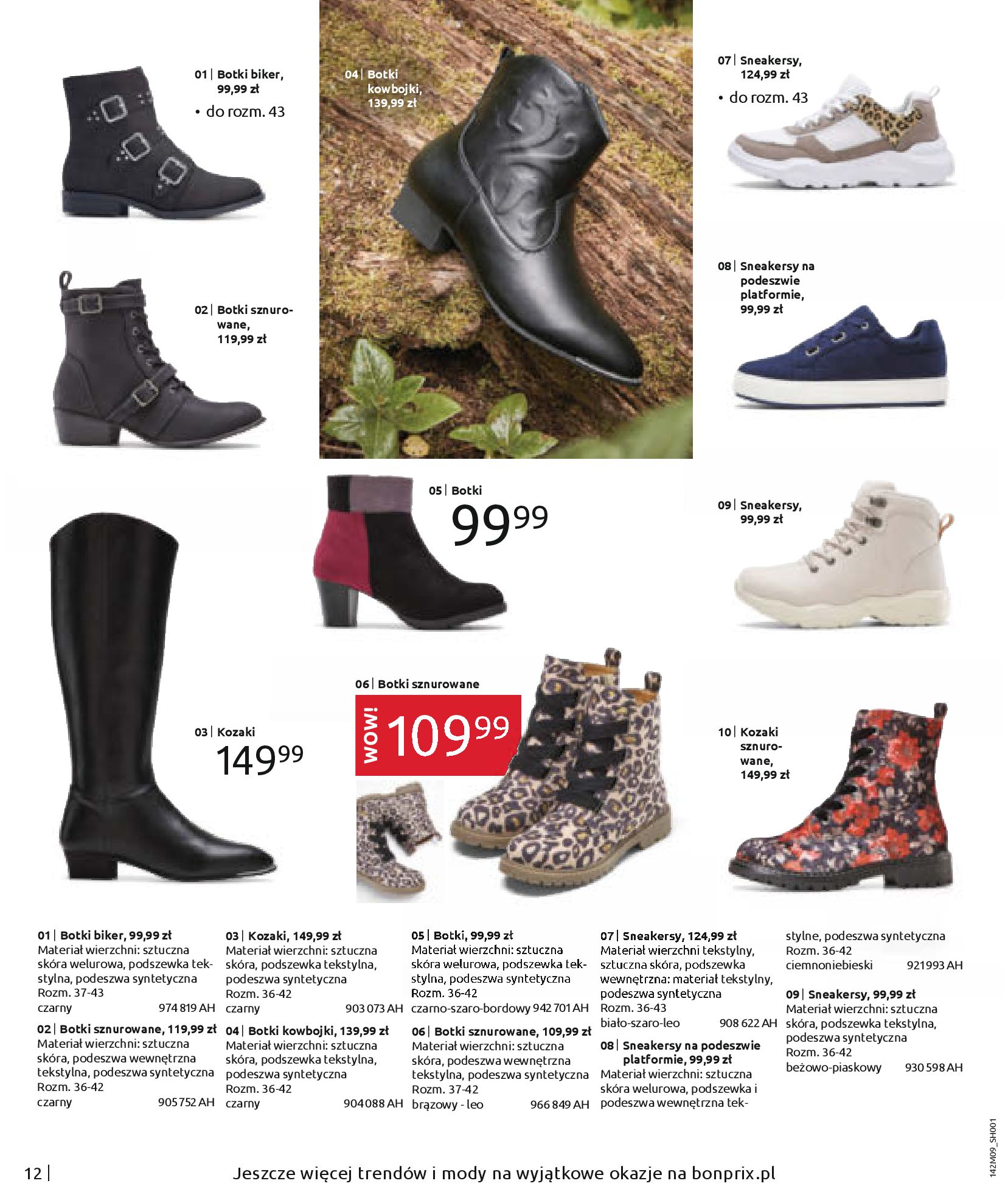 Gazetka Bonprix: Naturalnie i stylowo 2020-09-24 page-14