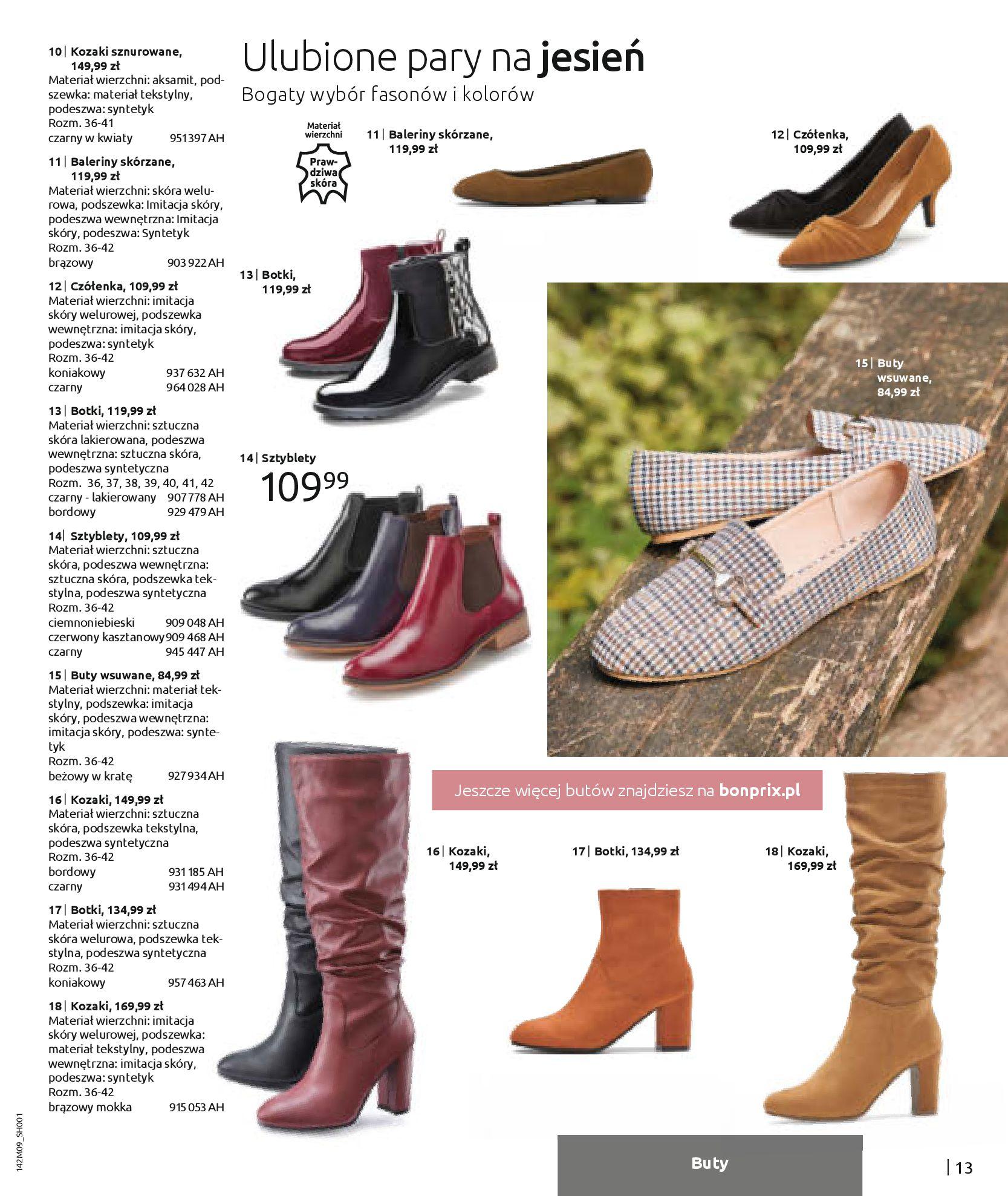 Gazetka Bonprix: Naturalnie i stylowo 2020-09-24 page-15