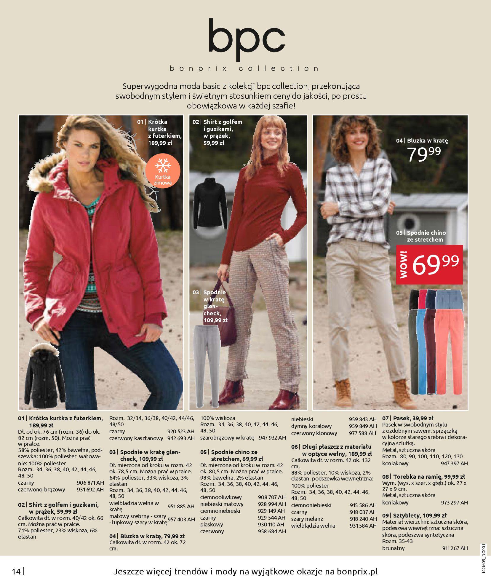 Gazetka Bonprix: Naturalnie i stylowo 2020-09-24 page-16