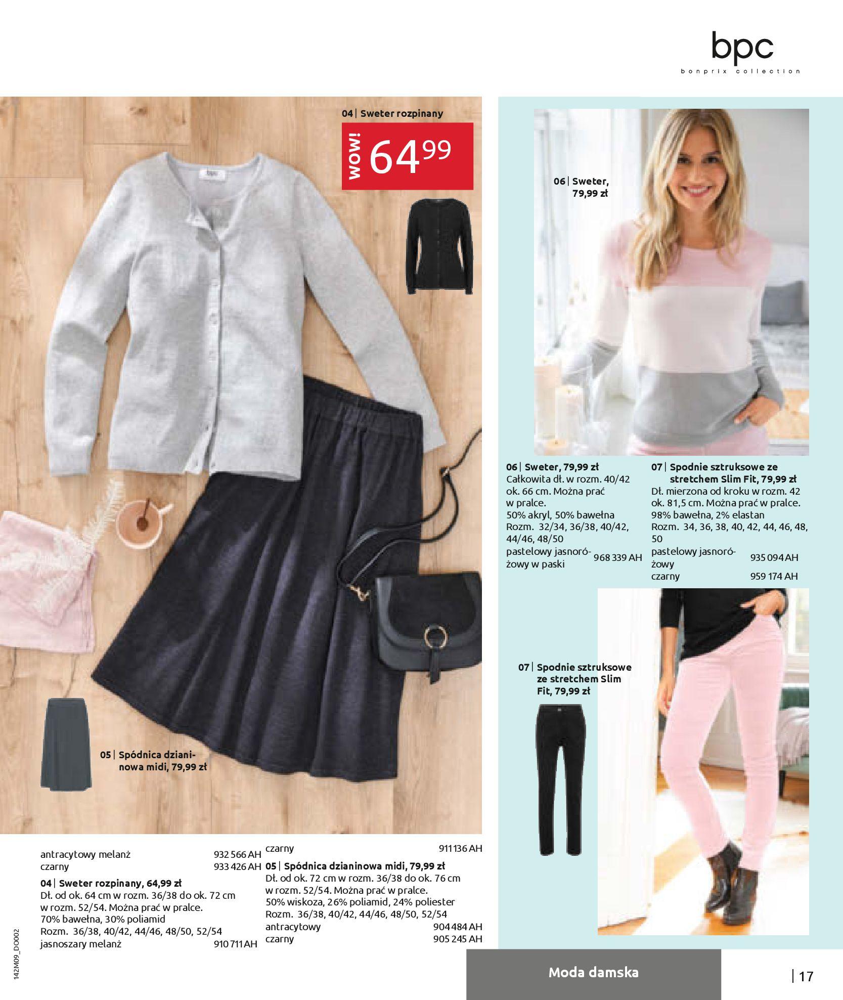 Gazetka Bonprix: Naturalnie i stylowo 2020-09-24 page-19