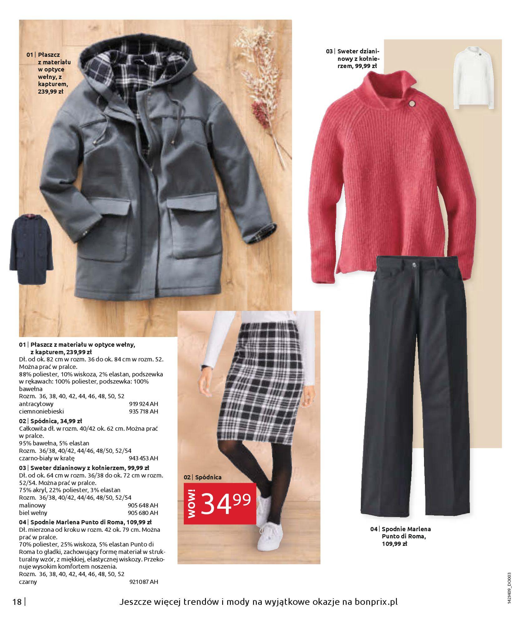 Gazetka Bonprix: Naturalnie i stylowo 2020-09-24 page-20