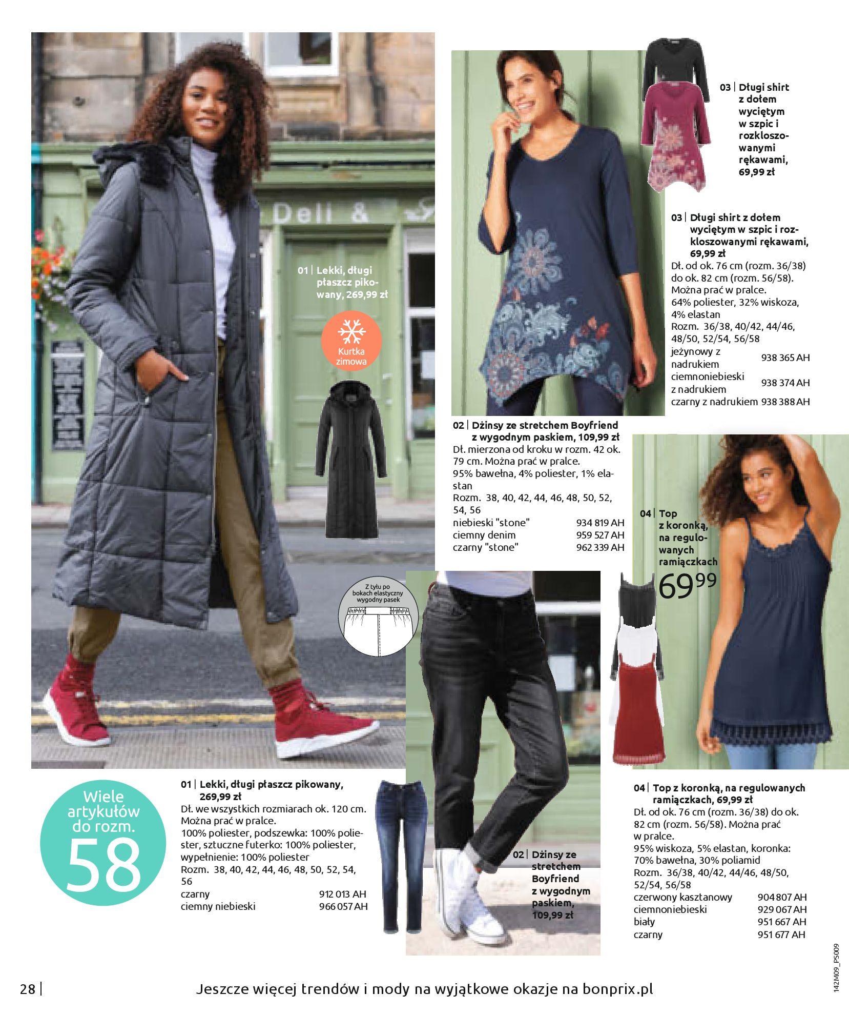 Gazetka Bonprix: Naturalnie i stylowo 2020-09-24 page-30
