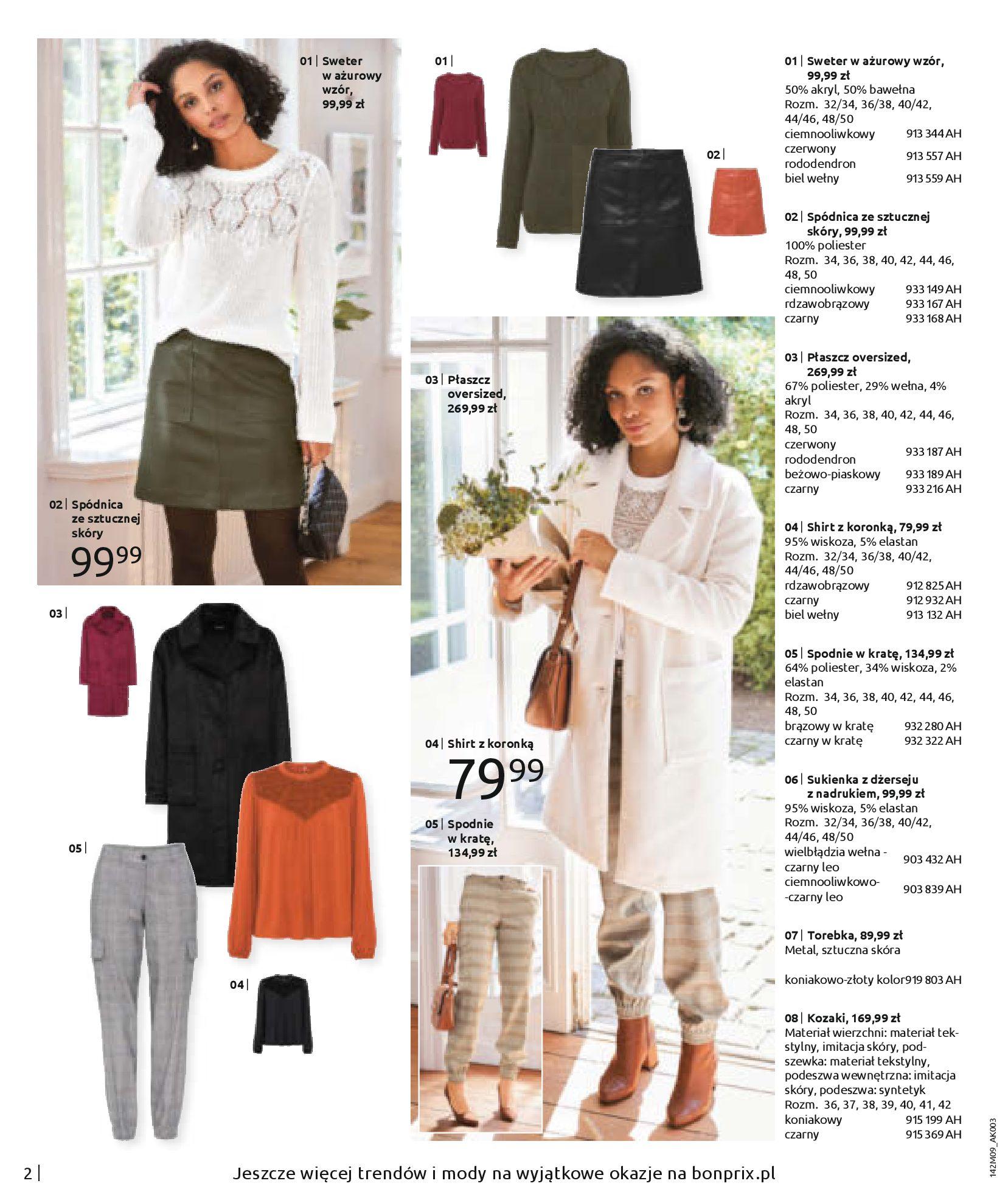 Gazetka Bonprix: Naturalnie i stylowo 2020-09-24 page-4