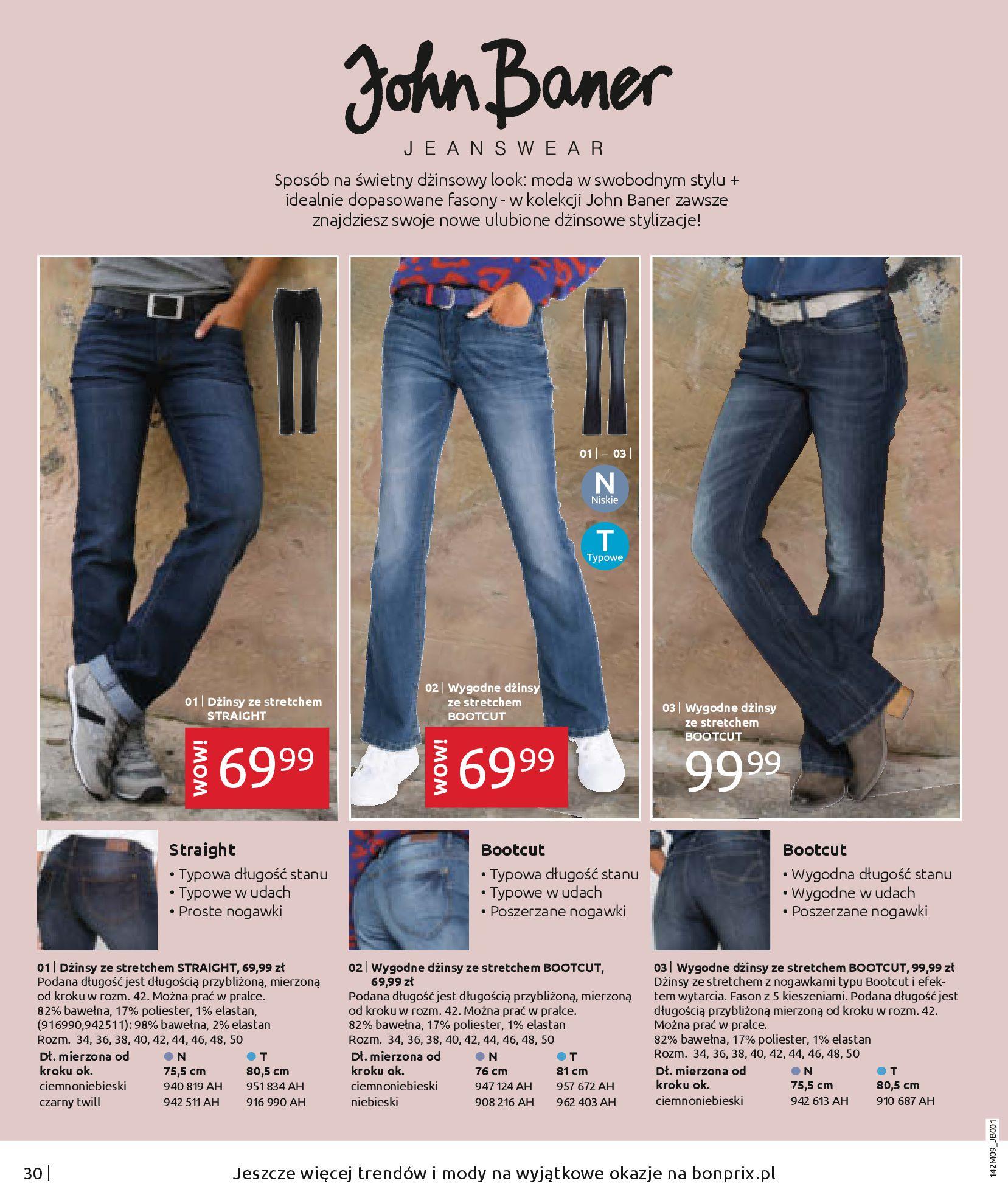 Gazetka Bonprix: Naturalnie i stylowo 2020-09-24 page-32