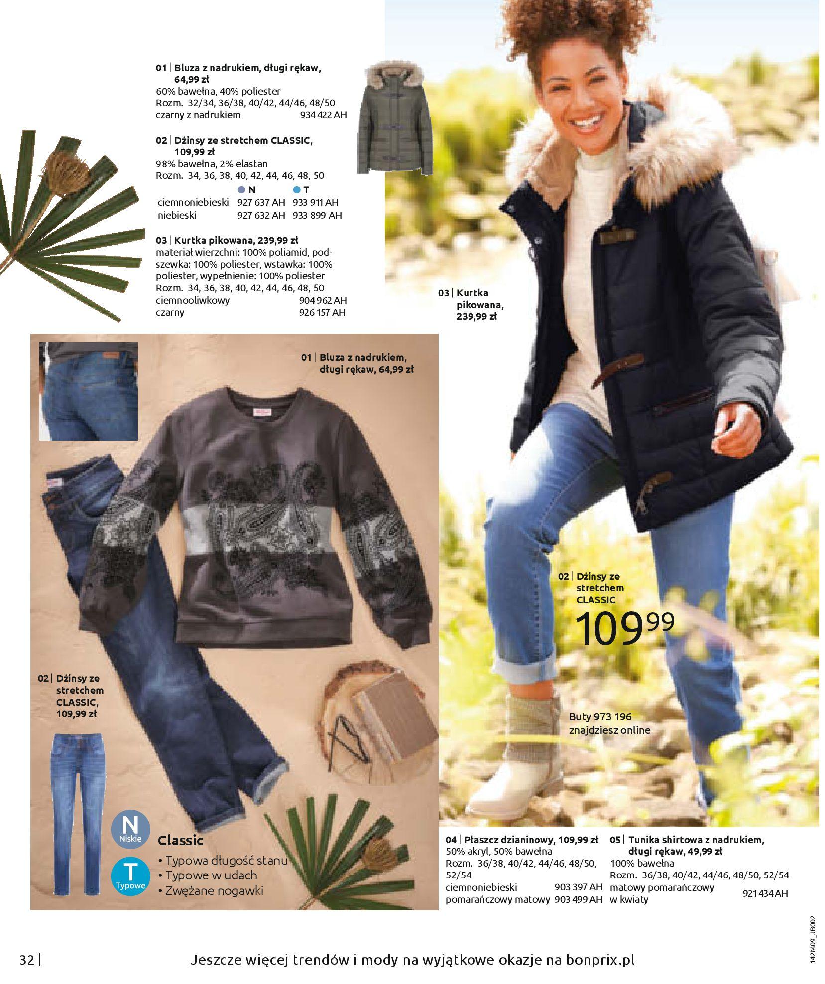 Gazetka Bonprix: Naturalnie i stylowo 2020-09-24 page-34