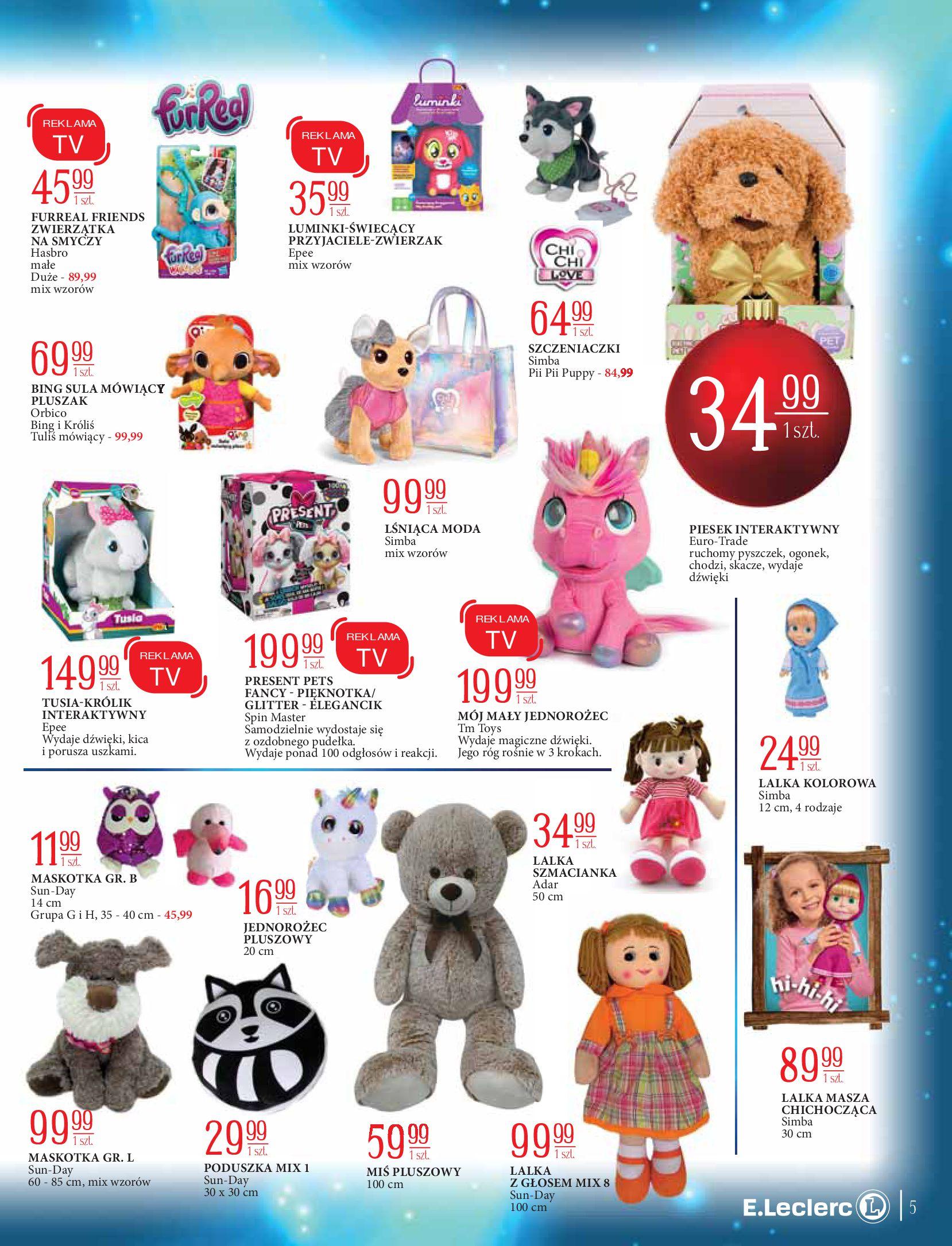 Gazetka E.Leclerc: Świat zabawek i dekoracji 2020-11-10 page-5