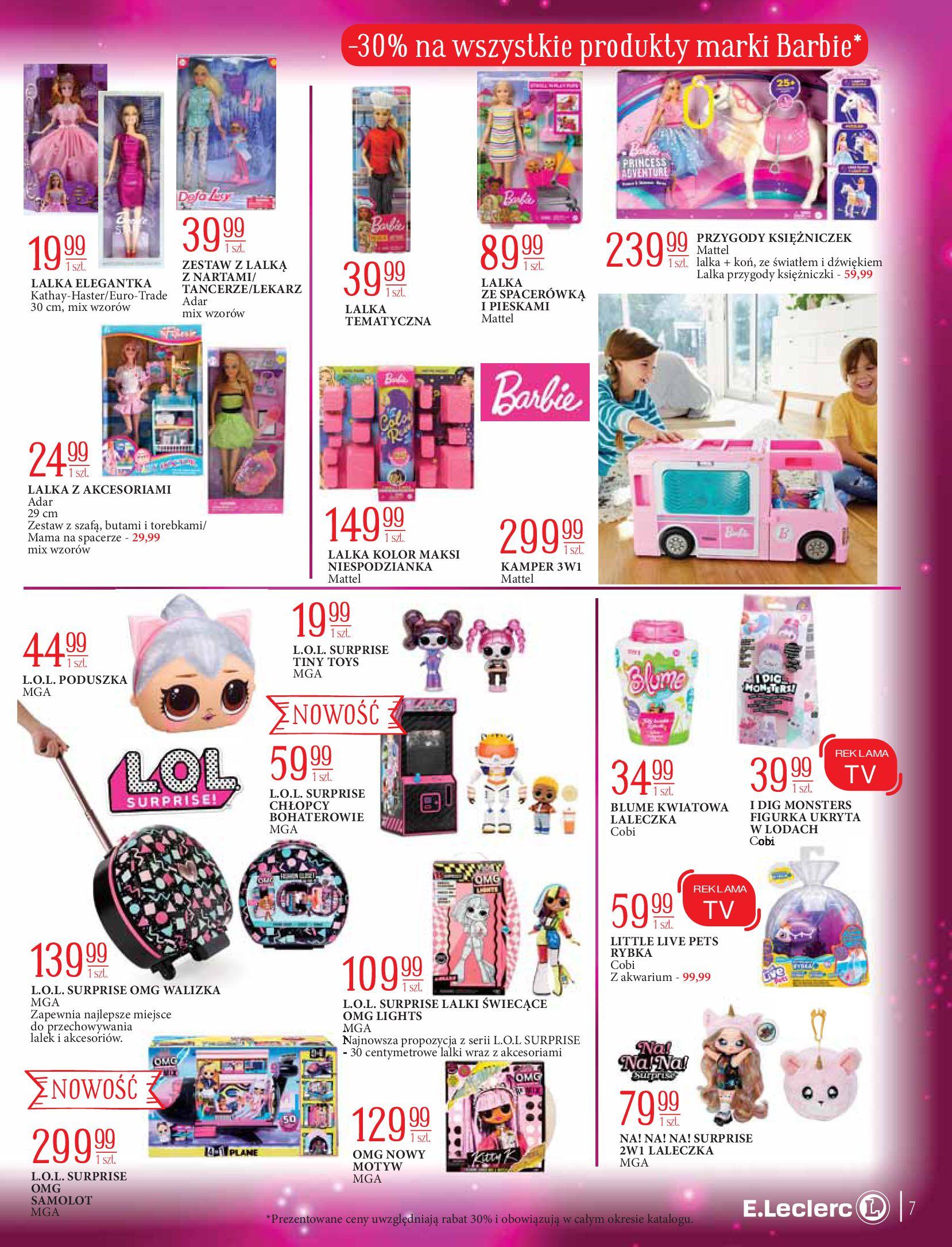Gazetka E.Leclerc: Świat zabawek i dekoracji 2020-11-10 page-7