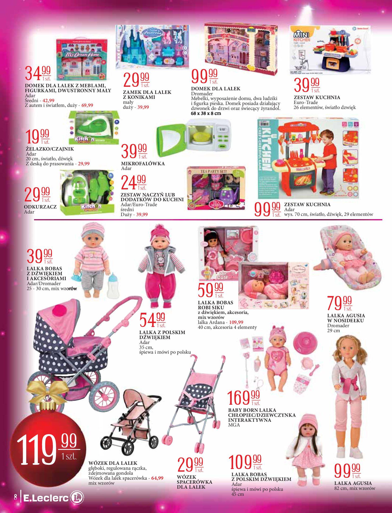 Gazetka E.Leclerc: Świat zabawek i dekoracji 2020-11-10 page-8