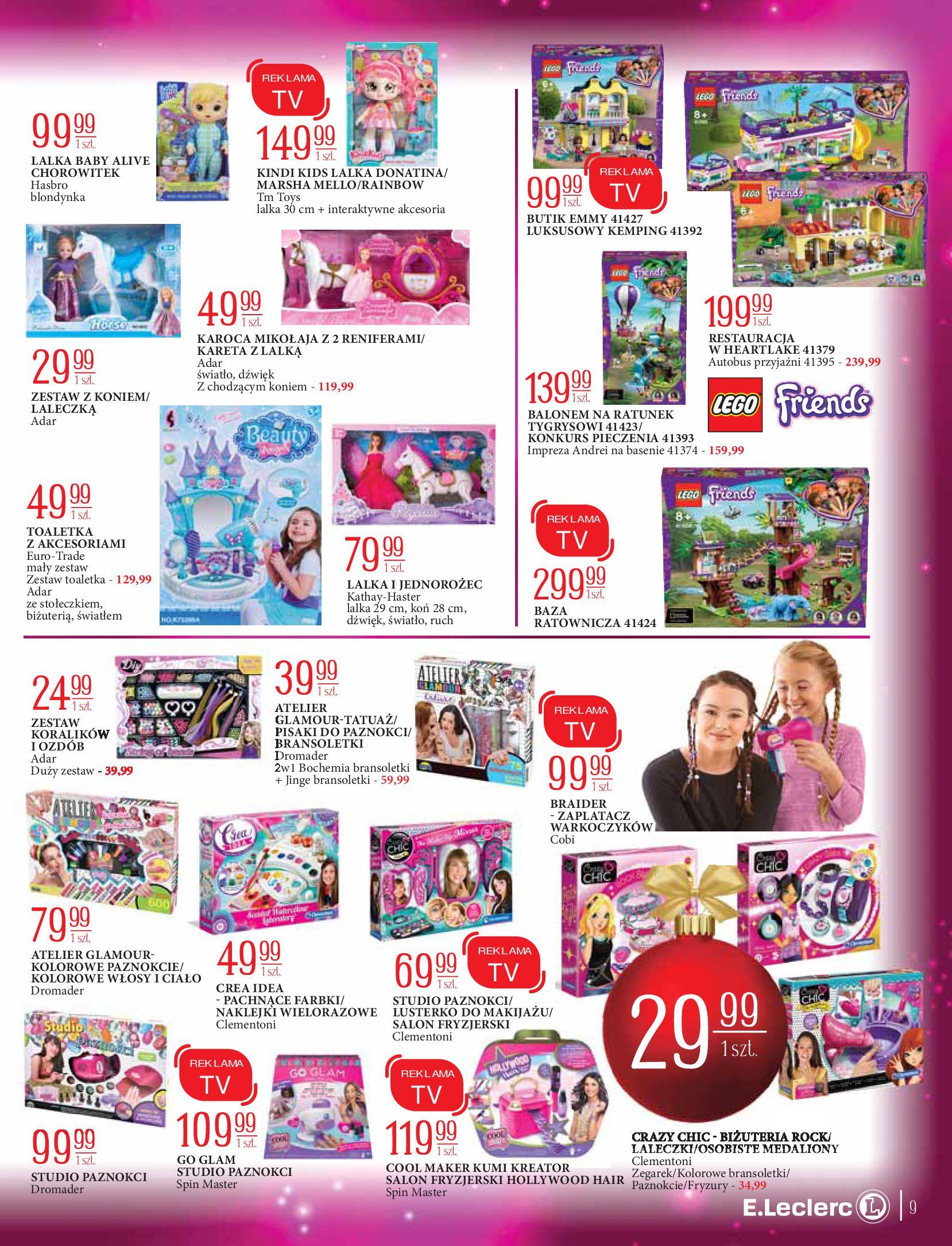 Gazetka E.Leclerc: Świat zabawek i dekoracji 2020-11-10 page-9