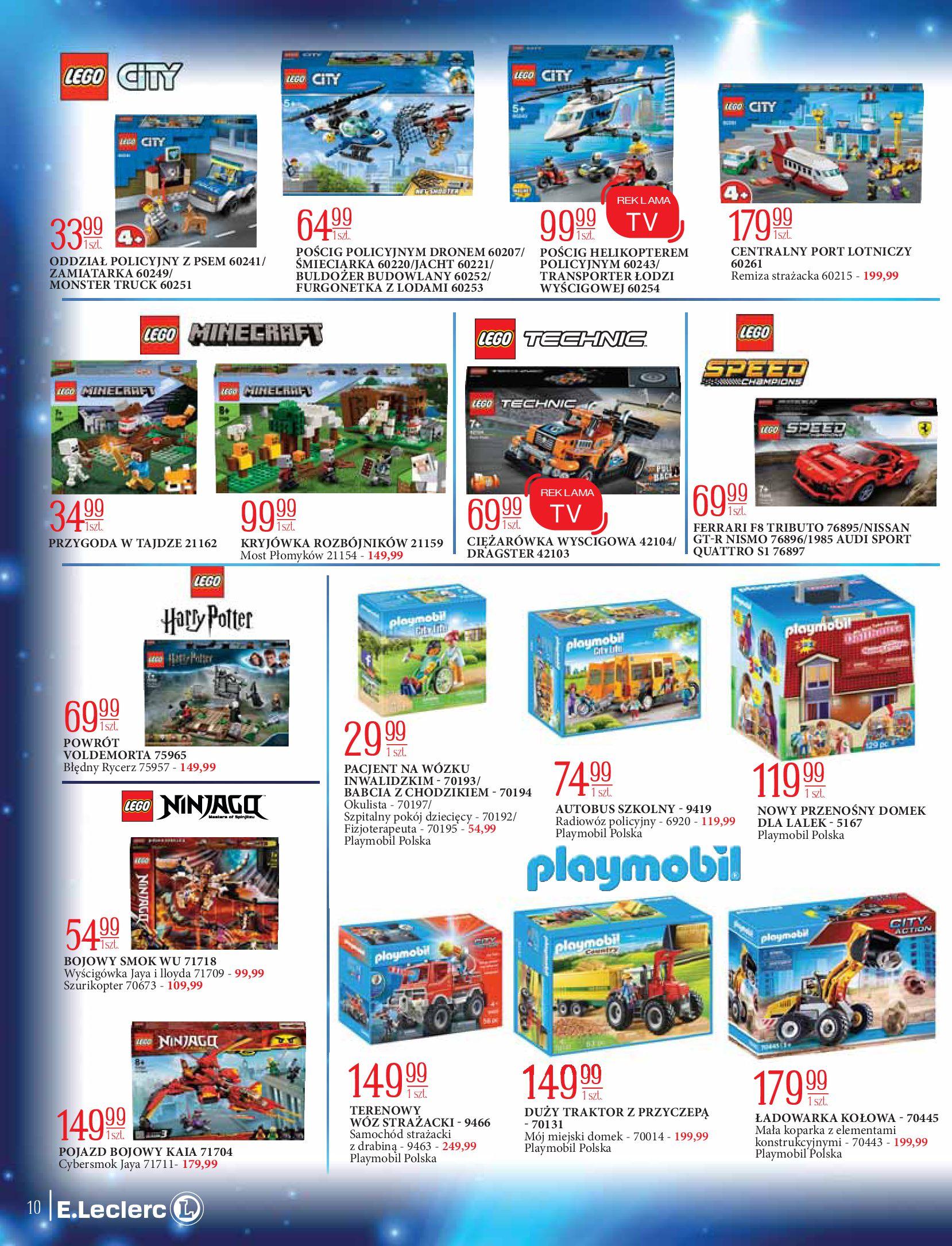 Gazetka E.Leclerc: Świat zabawek i dekoracji 2020-11-10 page-10