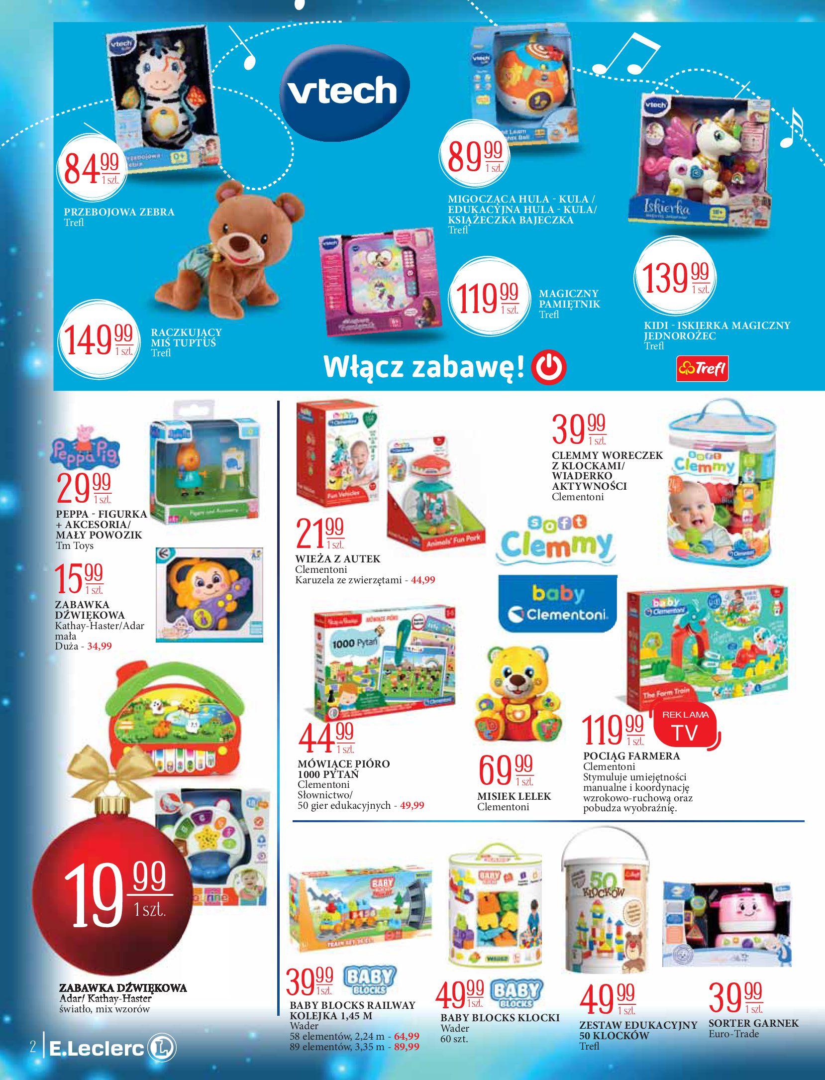 Gazetka E.Leclerc: Świat zabawek i dekoracji 2020-11-10 page-2