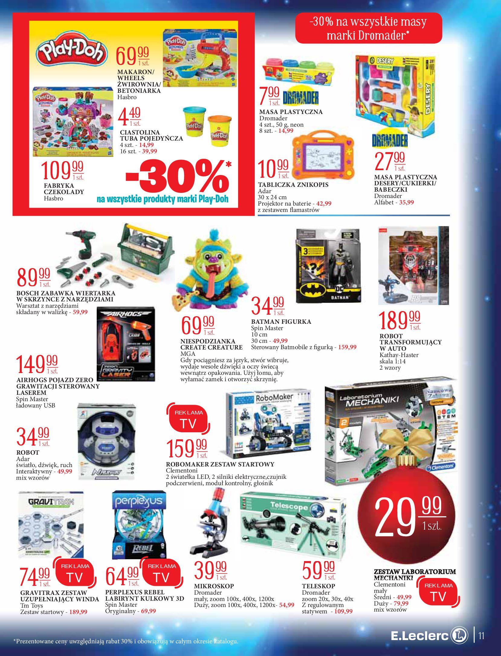 Gazetka E.Leclerc: Świat zabawek i dekoracji 2020-11-10 page-11